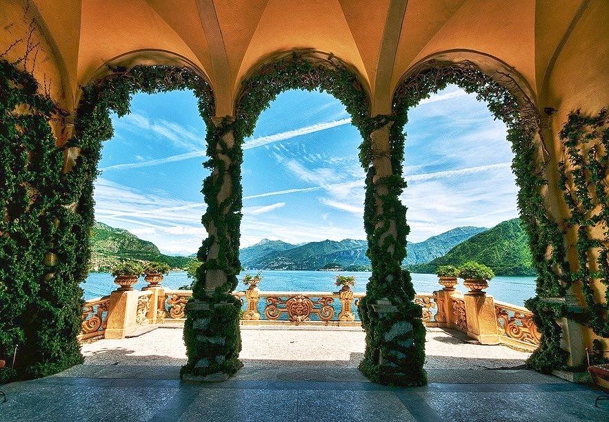 """View from """"Villa Balbianello"""""""