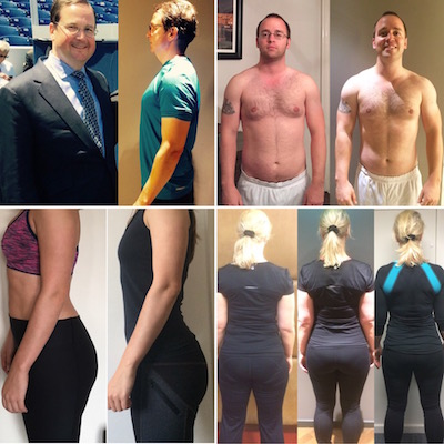 Here a some of my clients transformations