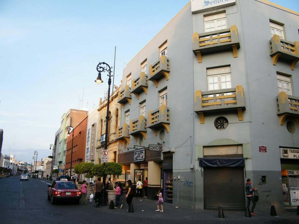 Downtown Aguascalientes.