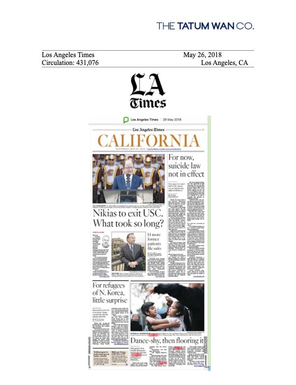 LA Times 5/26/18