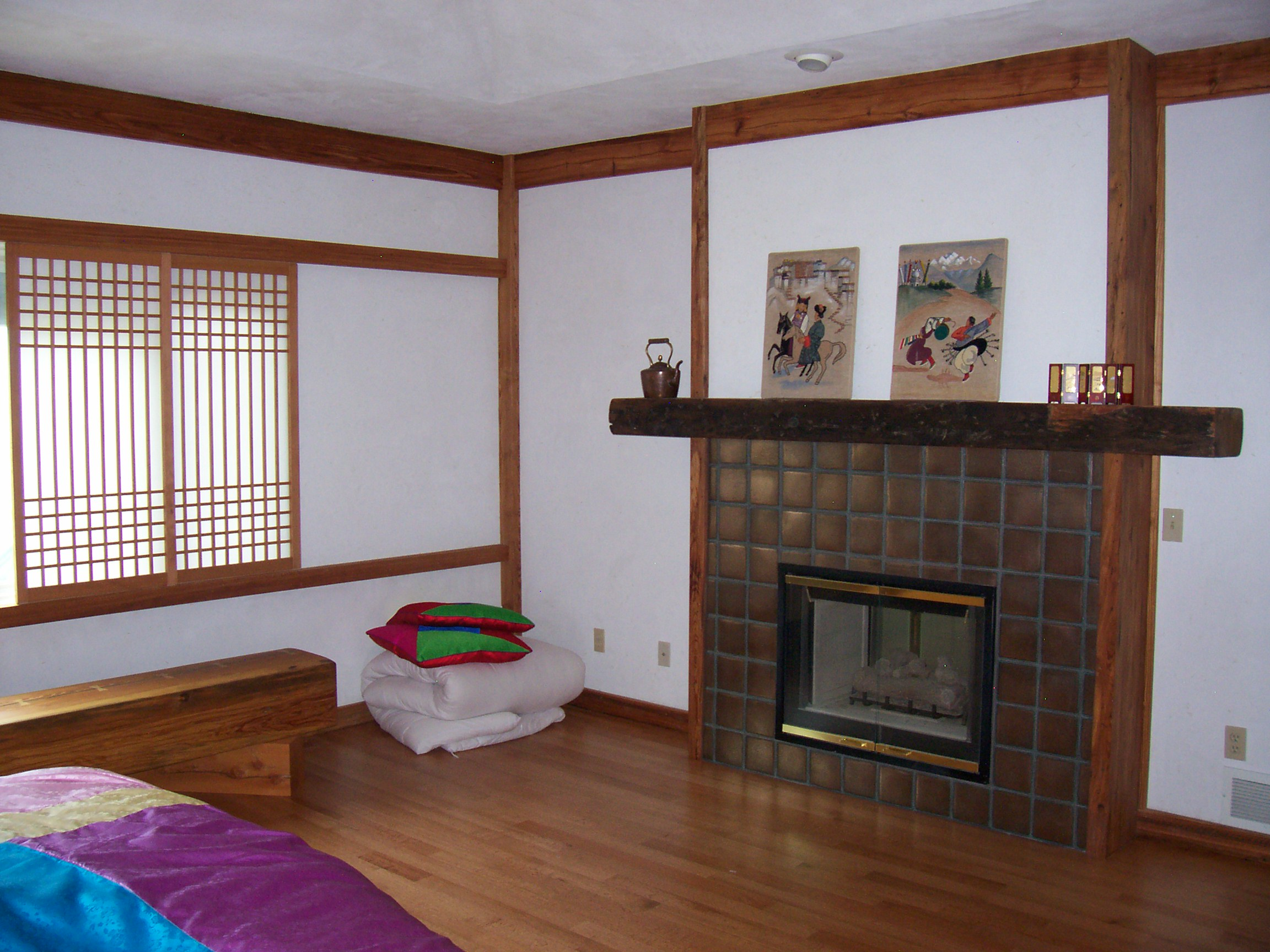Korean Bedroom Earthwood Design