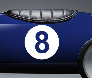 Body number decals - optional extra