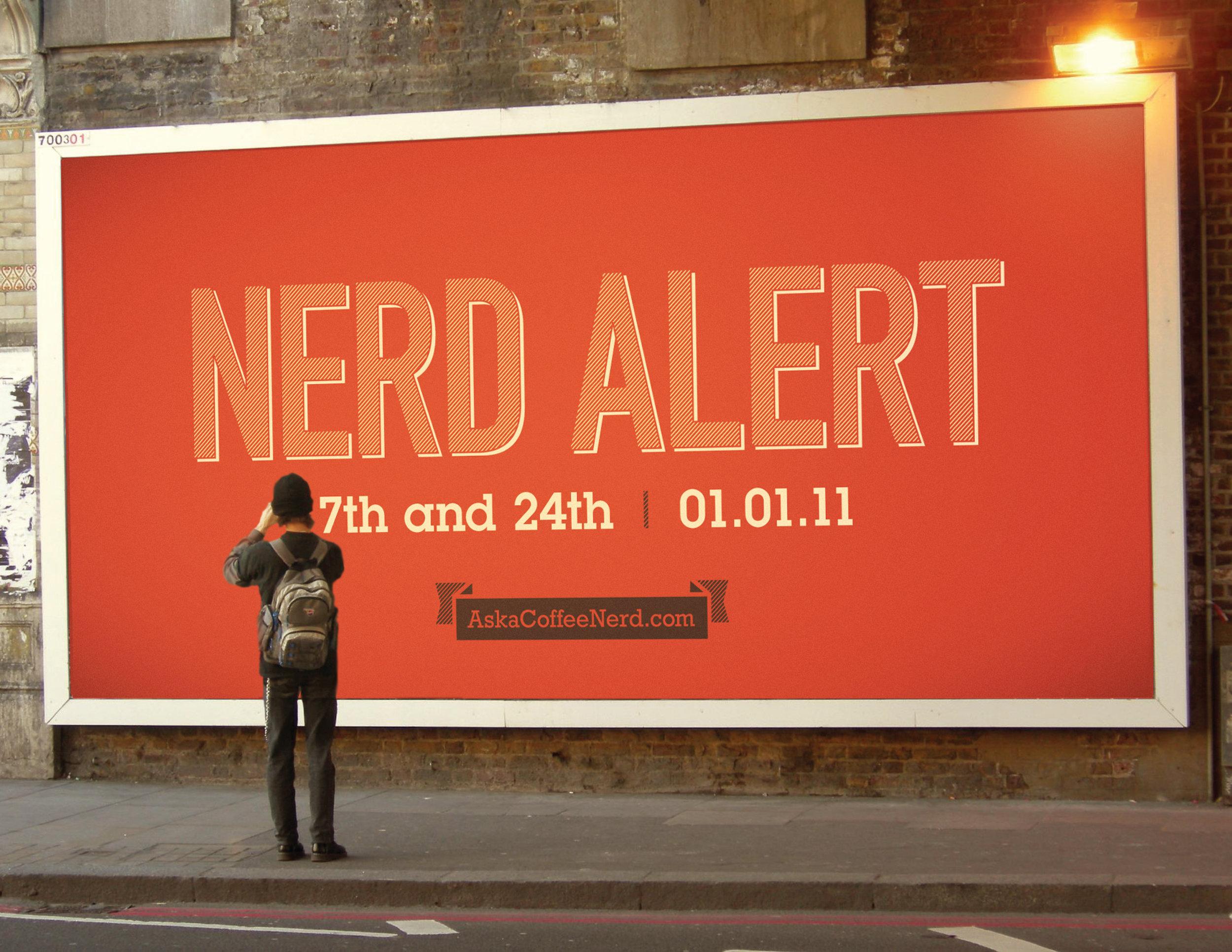 'Ask A Coffee Nerd' Teaser OOH