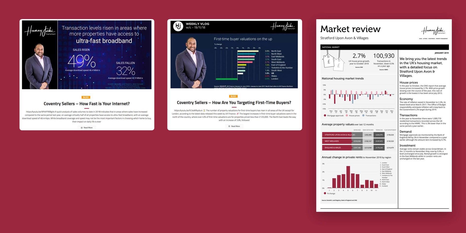 Blog |  Vlog  | Market reports