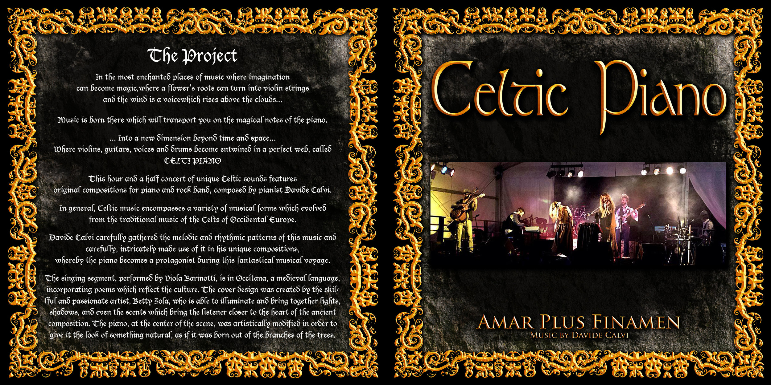 Celtic Piano    –     Amar Plus Finamen    (2015)