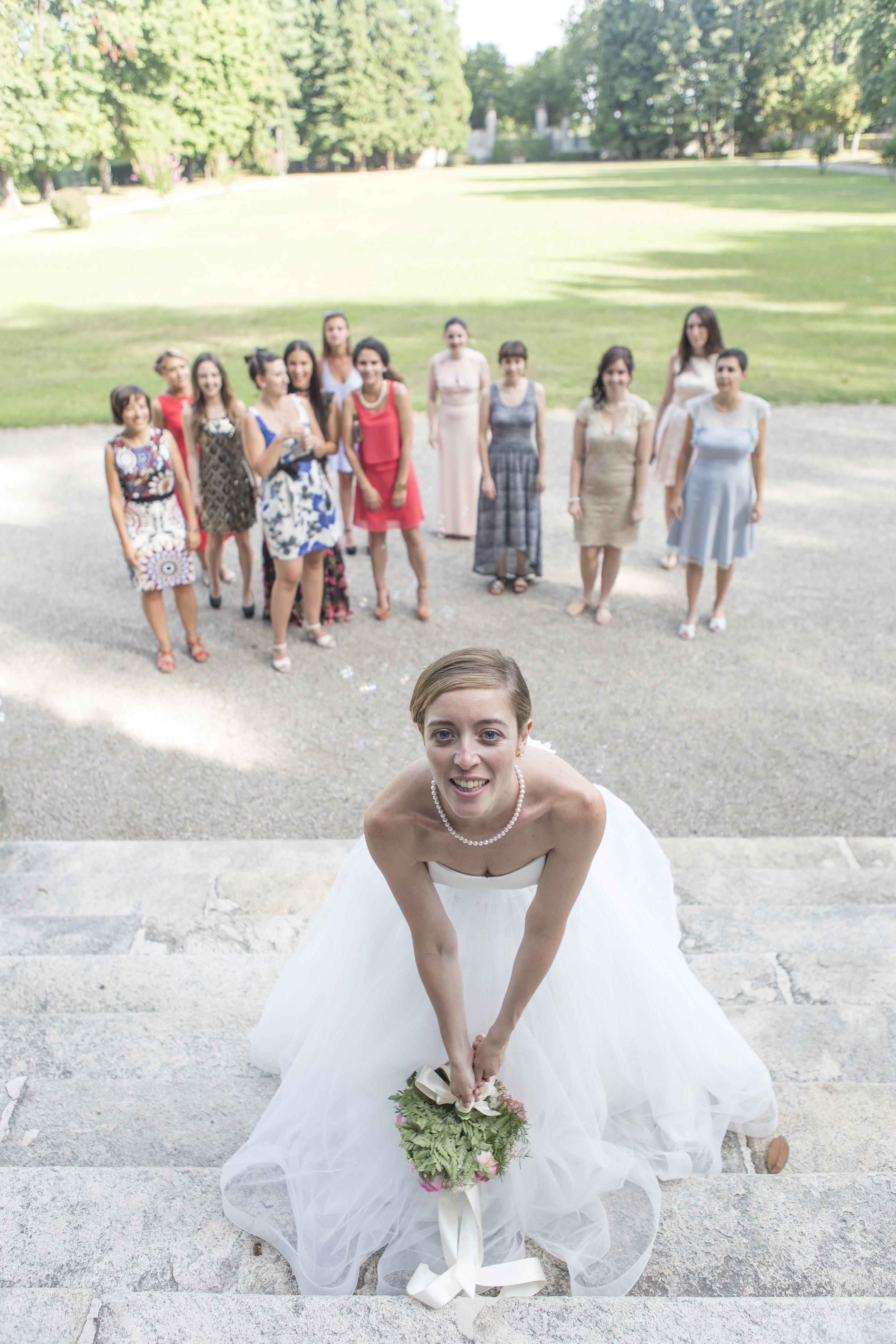 wedding fotografia sposa bouquet lancio matrimonio foto