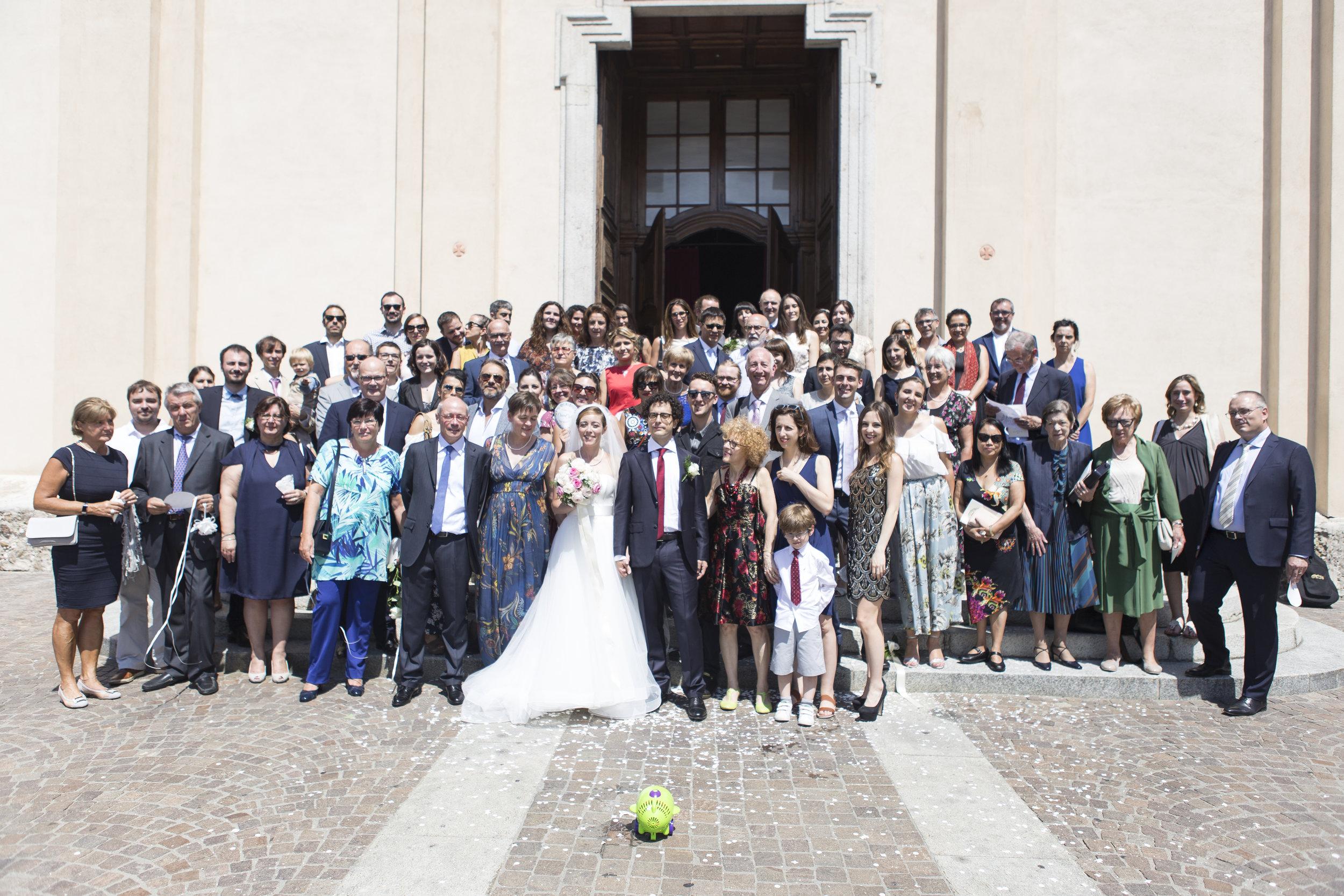foto invitati matrimonio fotografo cerimonia milano