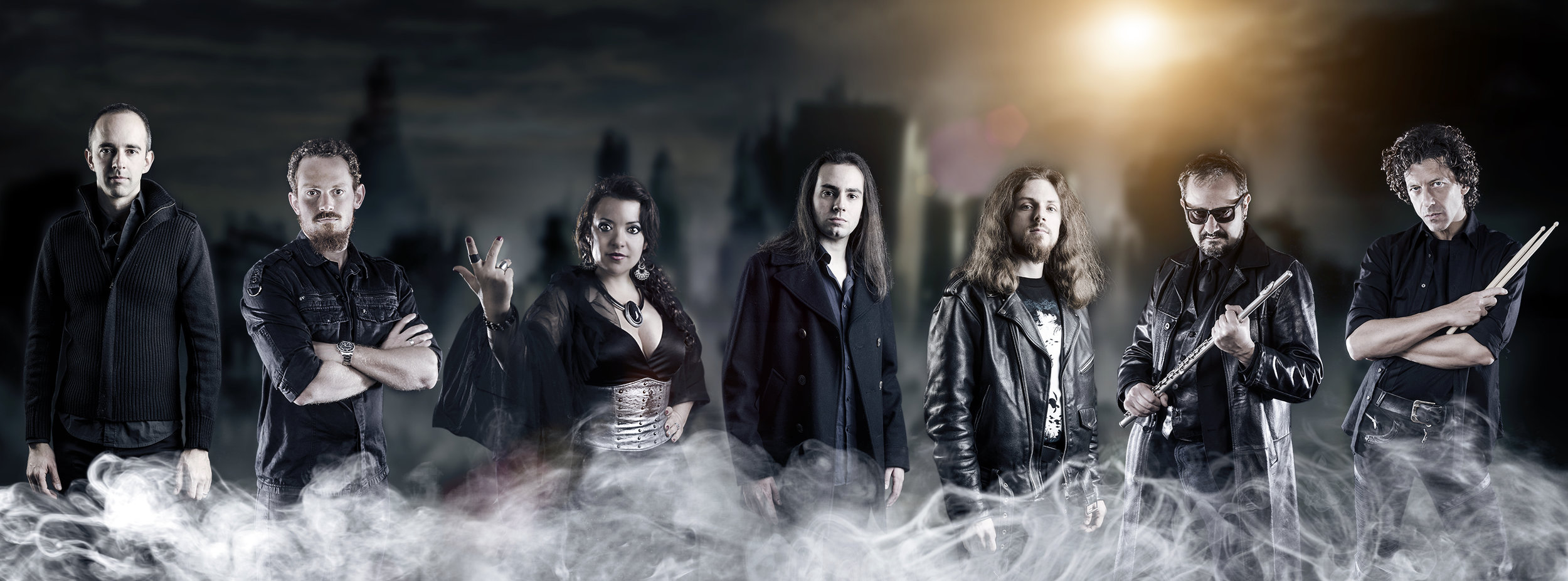 band metal musica milano fotografo ritratto
