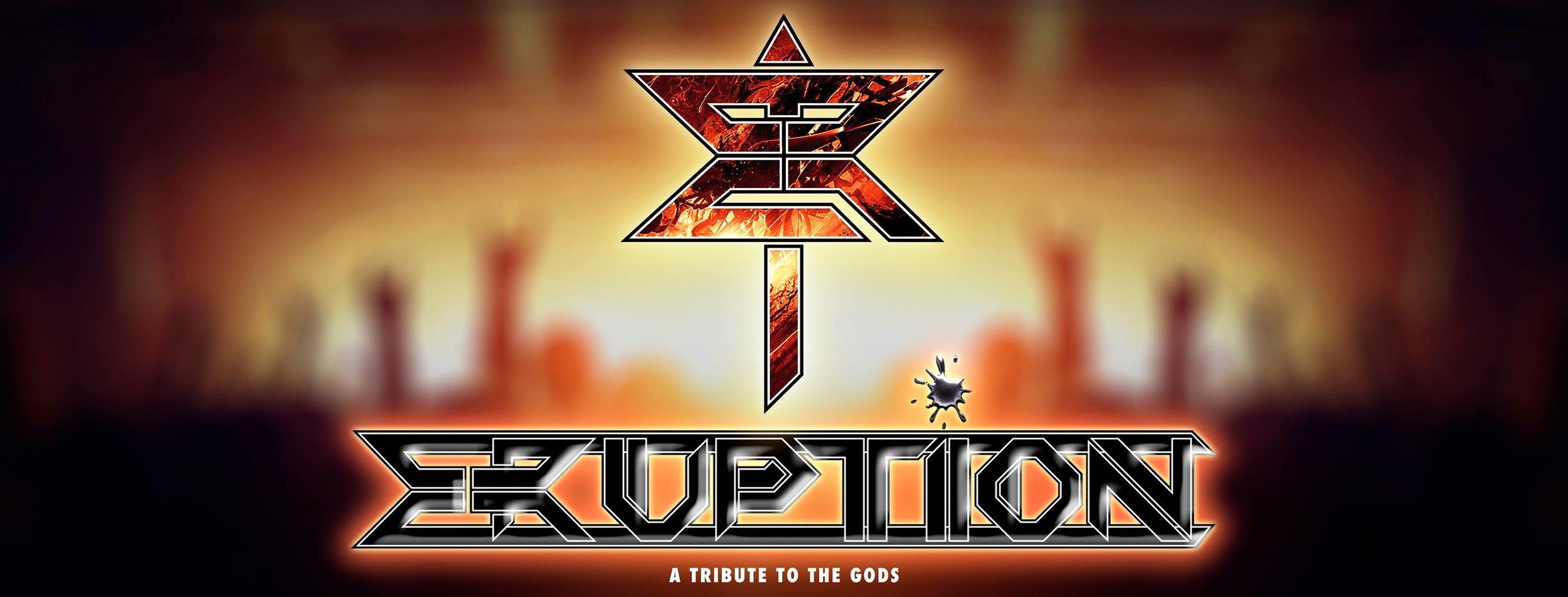 logo design eruption facebook cover grafico