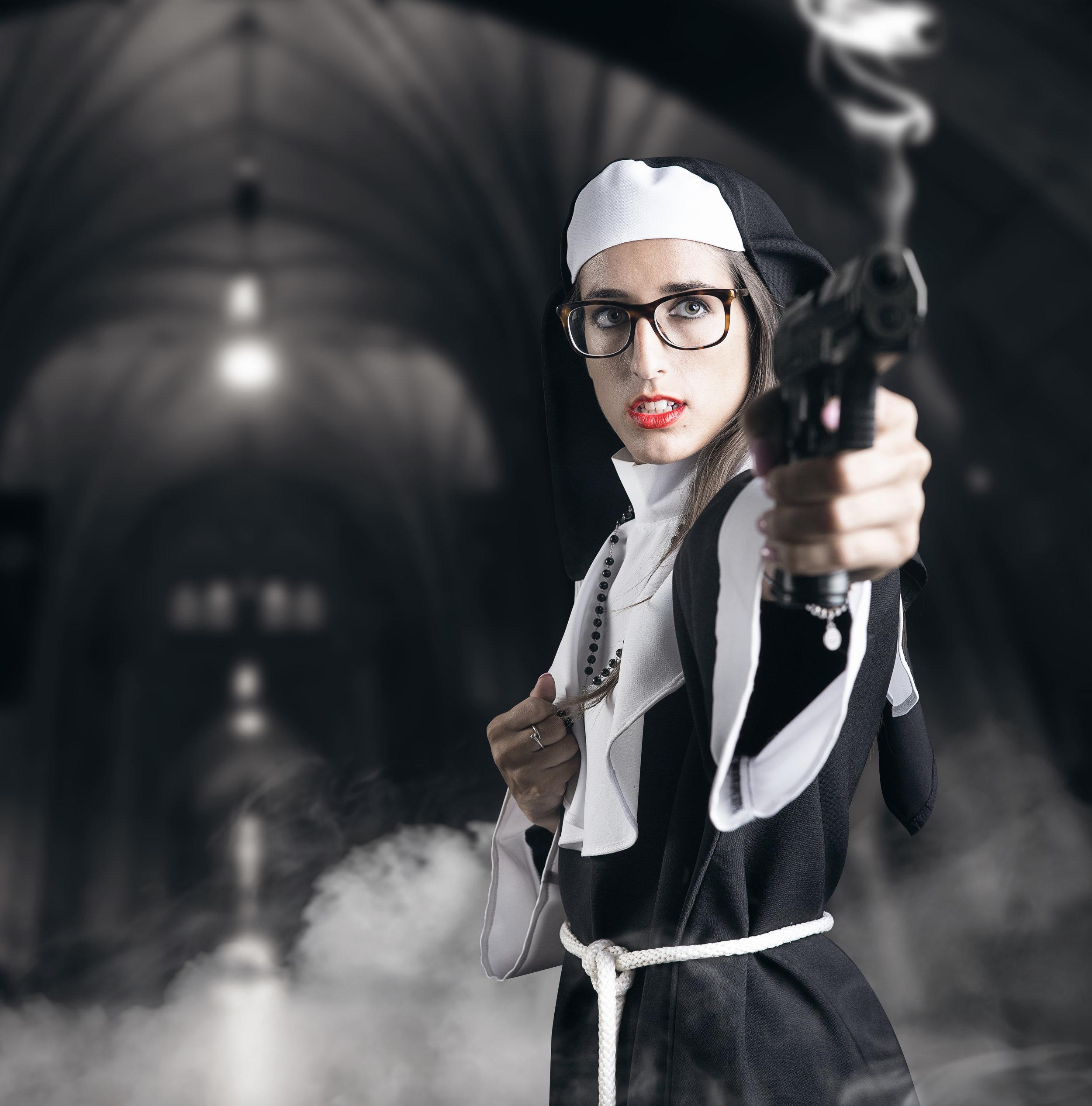 Sister Petra, cosplay shooting