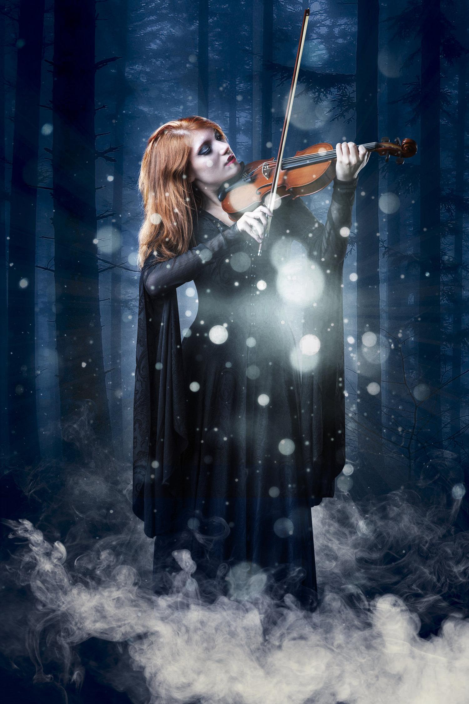 Violinista incantata