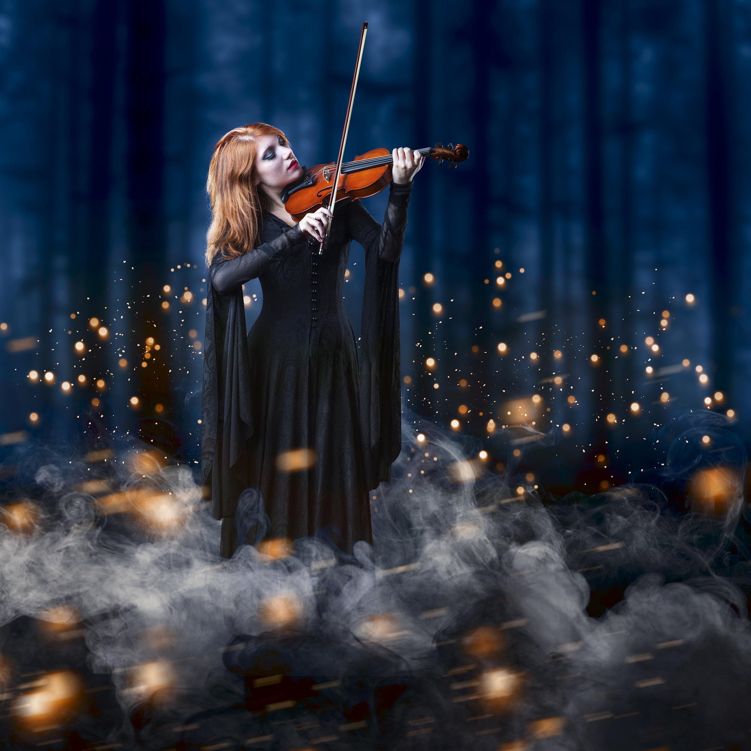 Ritratto fantasy musicista