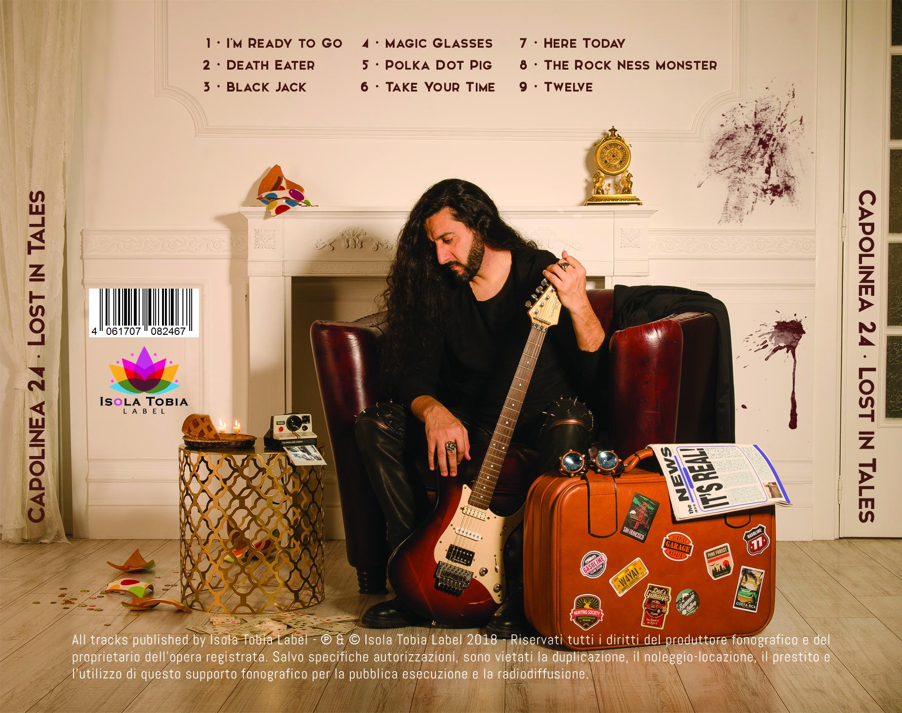 foto del retro cd album grafica stampa