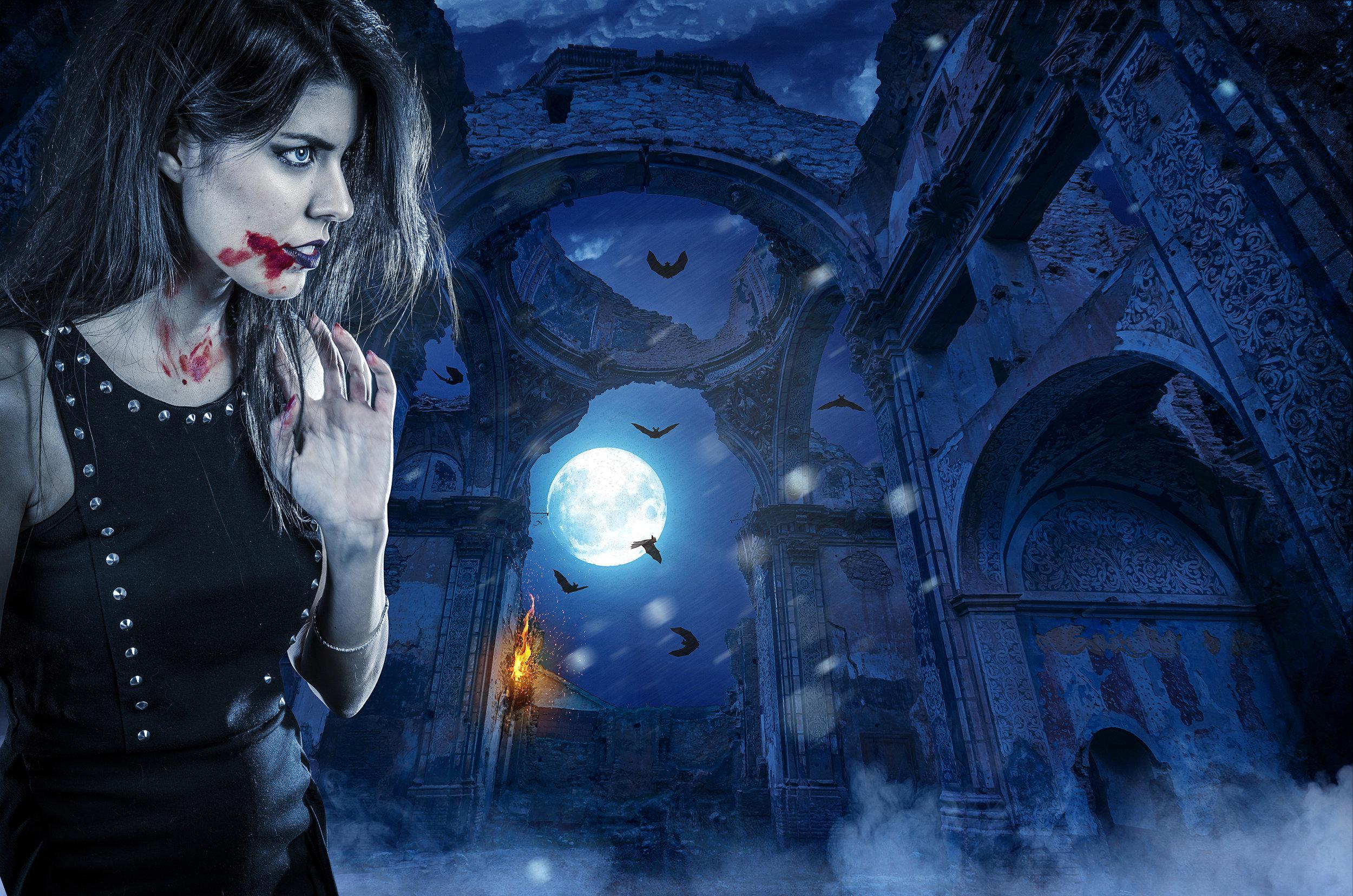 Ritratto horror fantasy