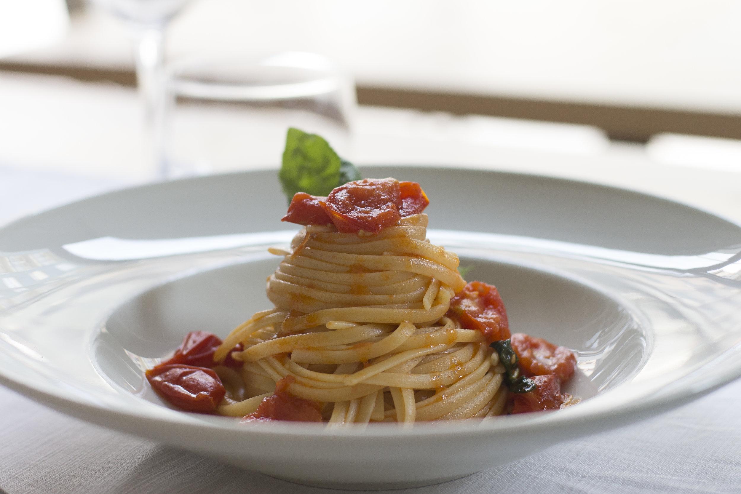 Foto piatto pasta
