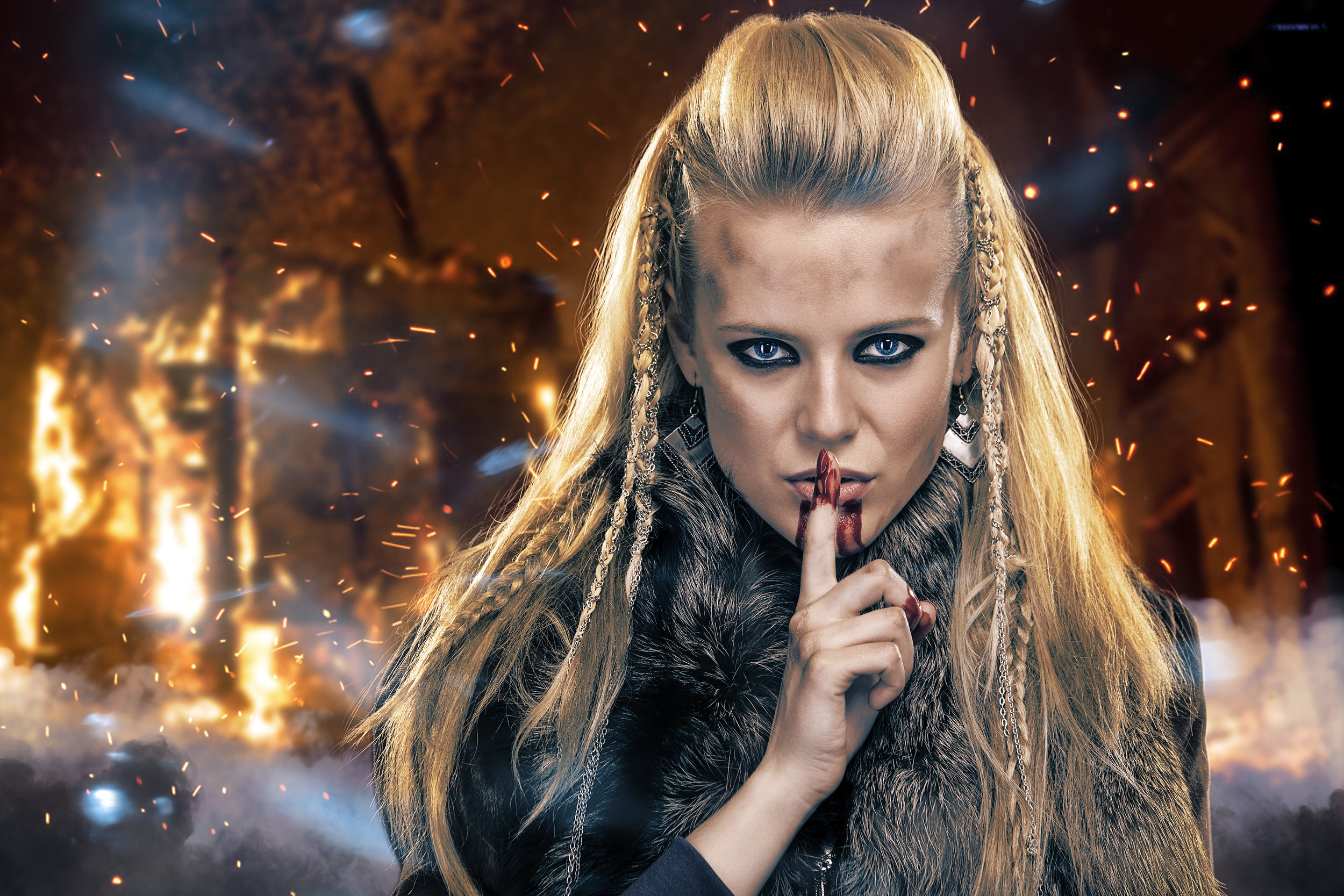 artwork gallery fantasy cosplay vikings
