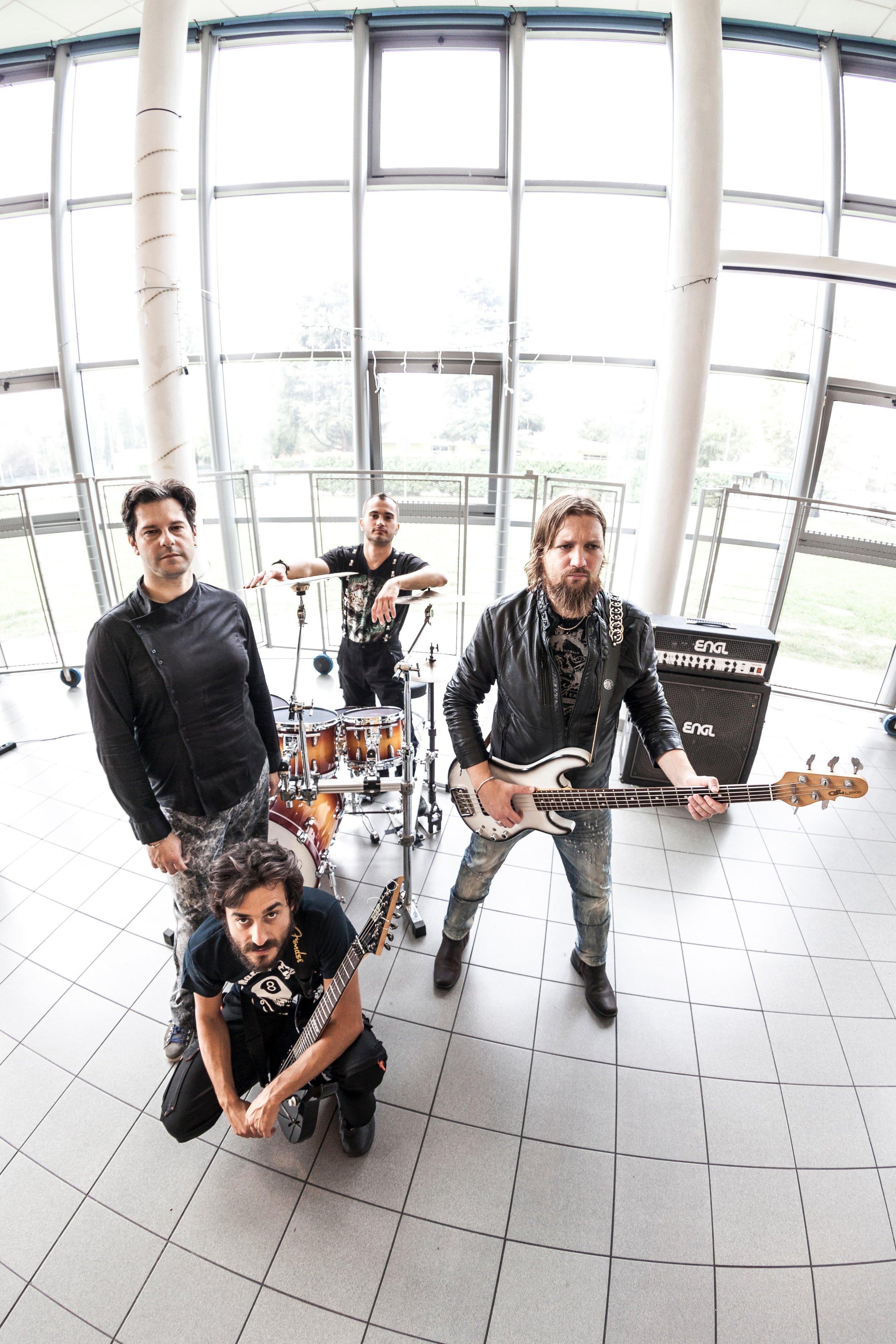 servizio fotografico per una band