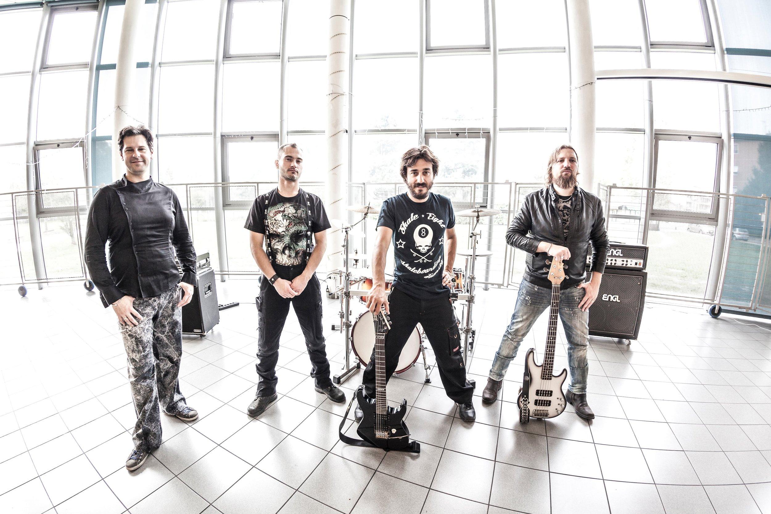 shooting fotografico con band metal