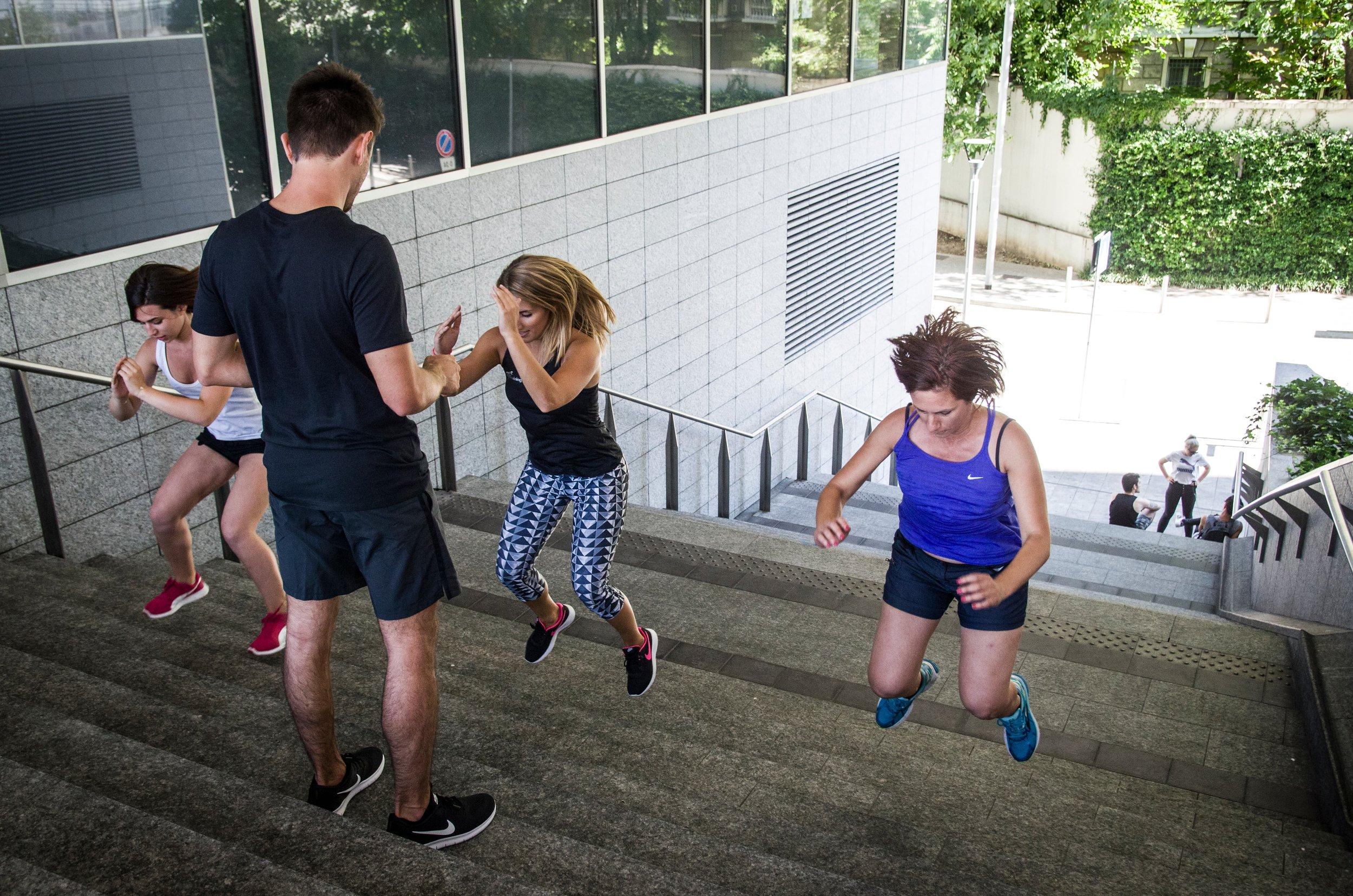Foto di un allenamento