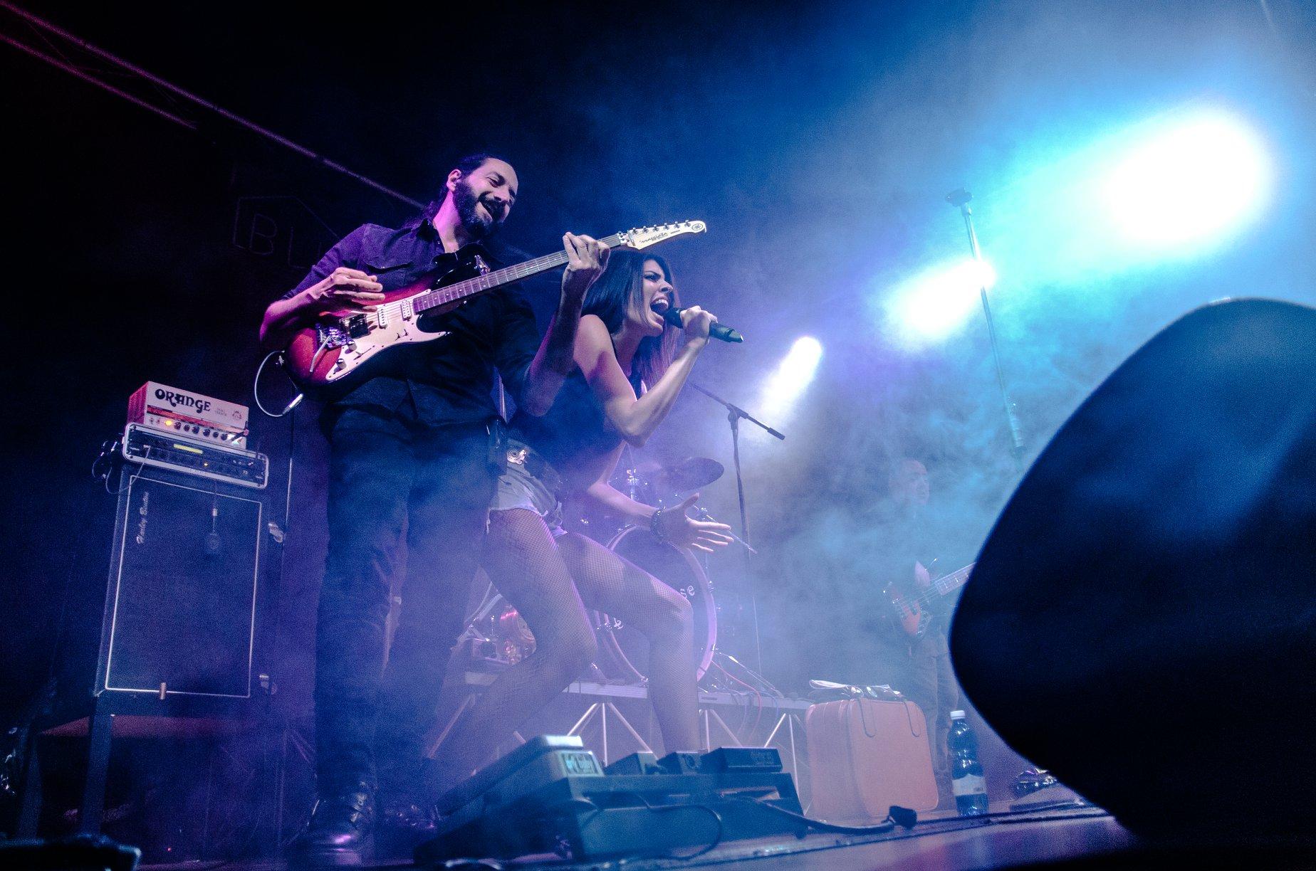 foto di concerto capolinea 24 di sharon gallo