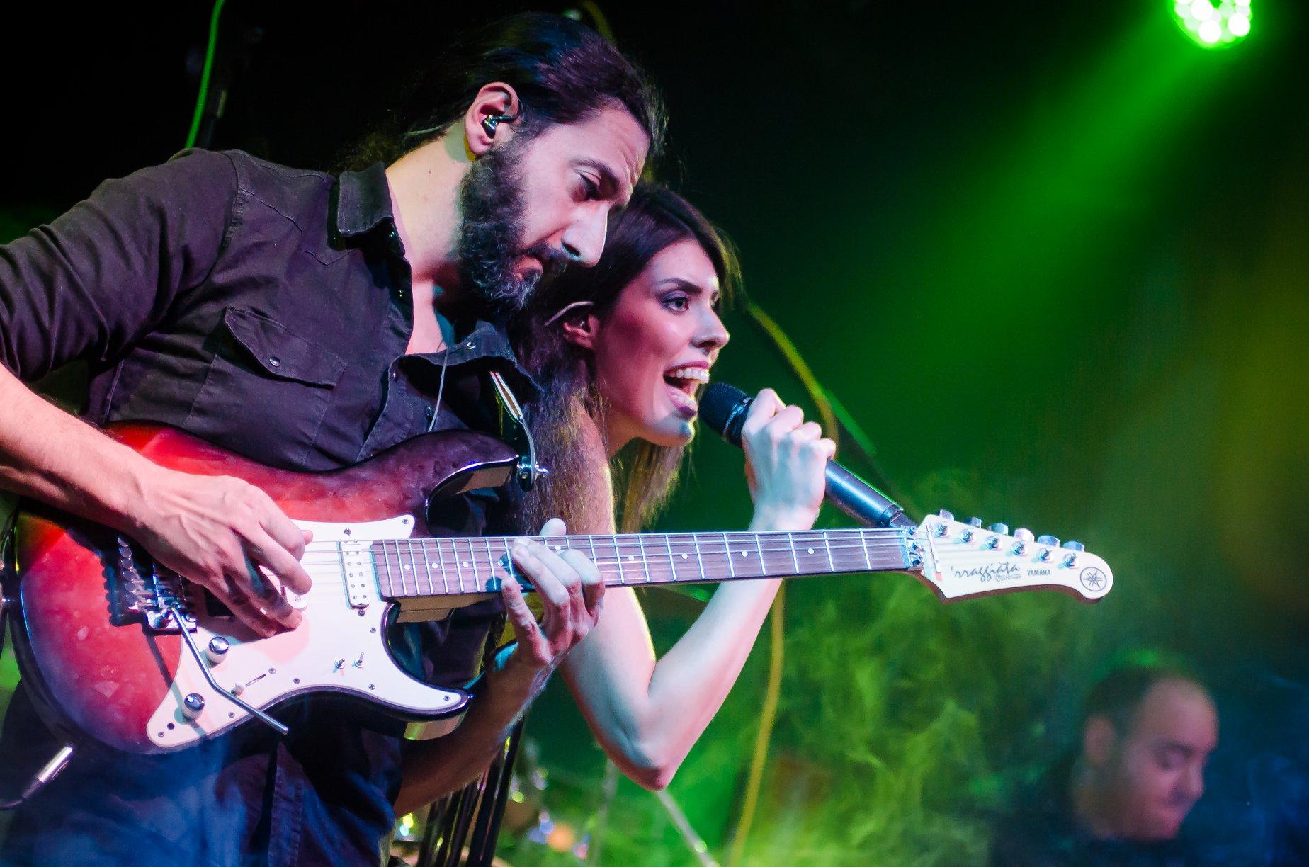 foto di concerto per band milano