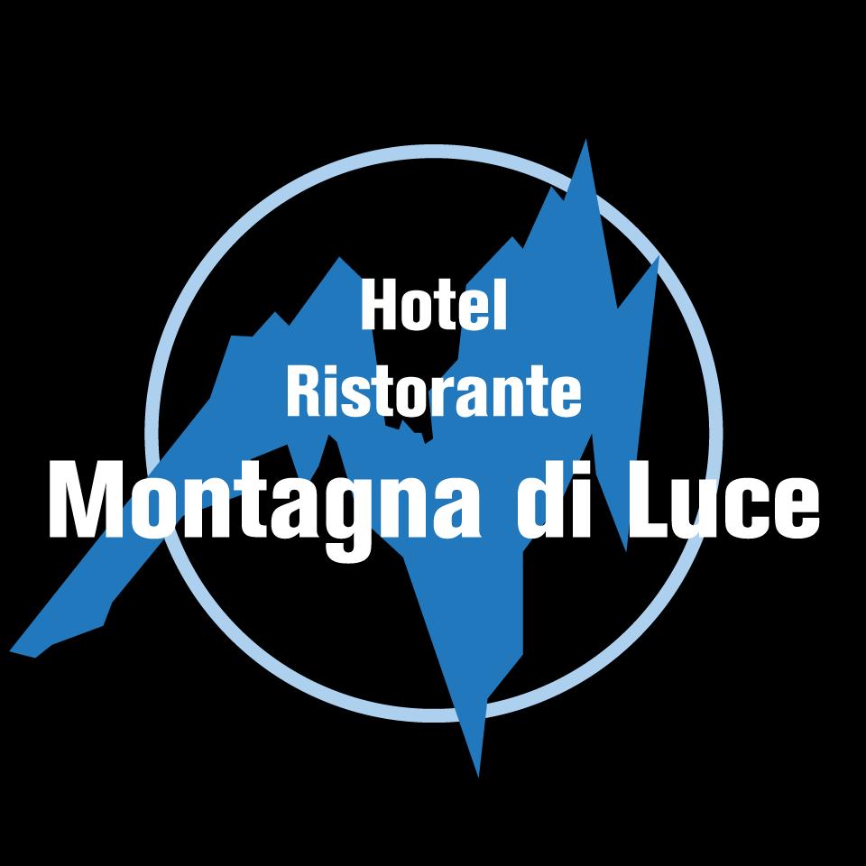 Progettazione logo Montagna di Luce nero
