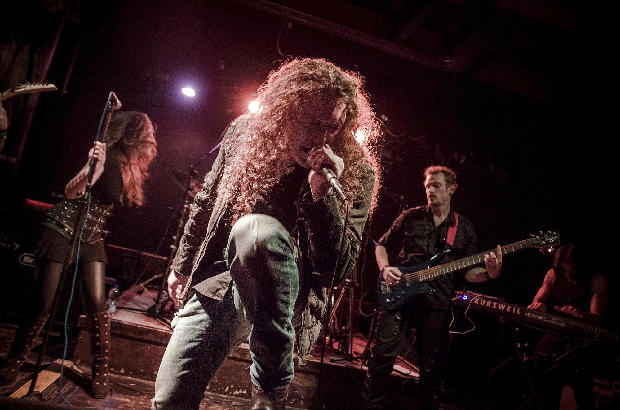 sharon gallo fotografia di concerto fabio lione