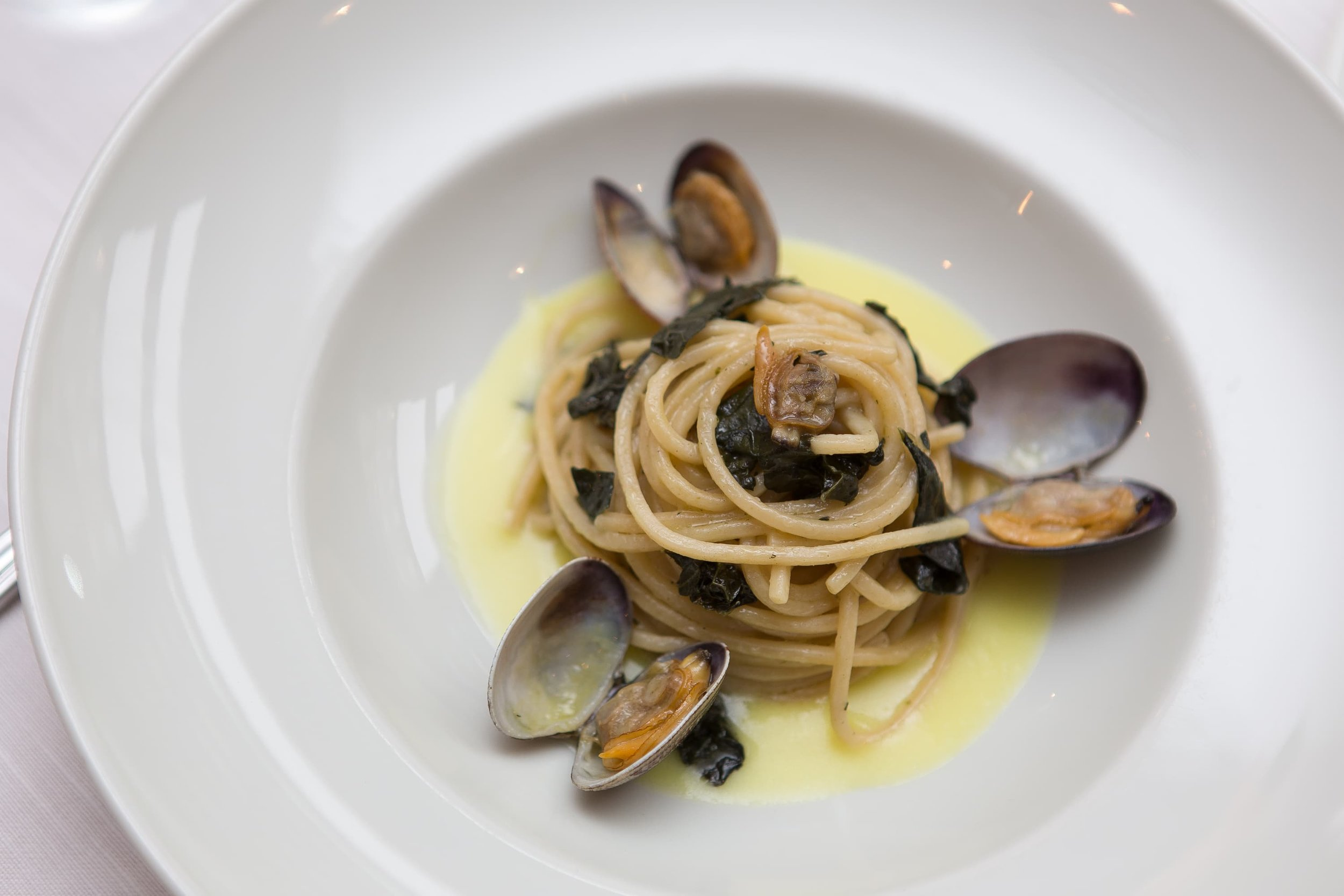 Foto food spaghetti allo scoglio