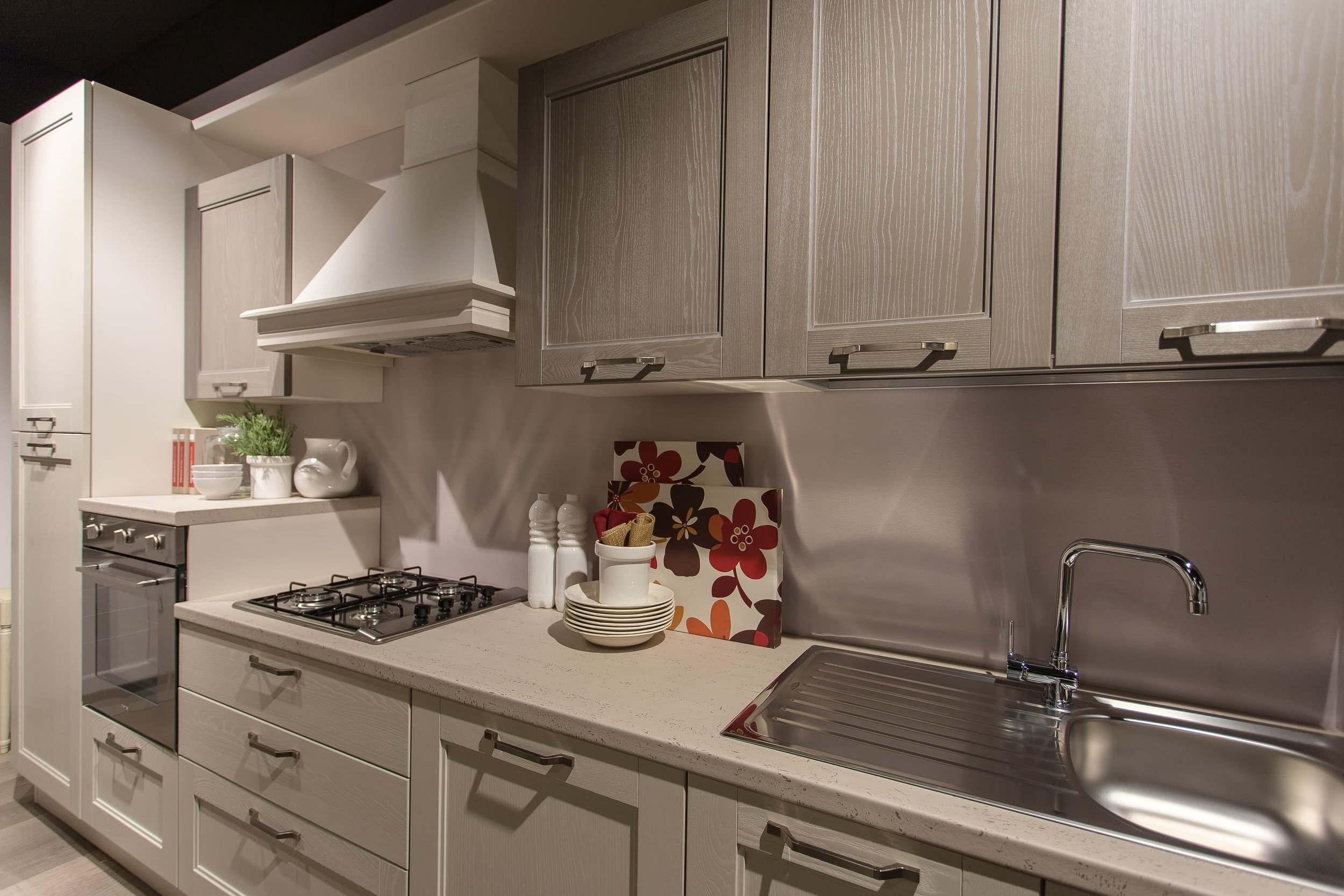 Foto di interni, cucine Lube e Creo