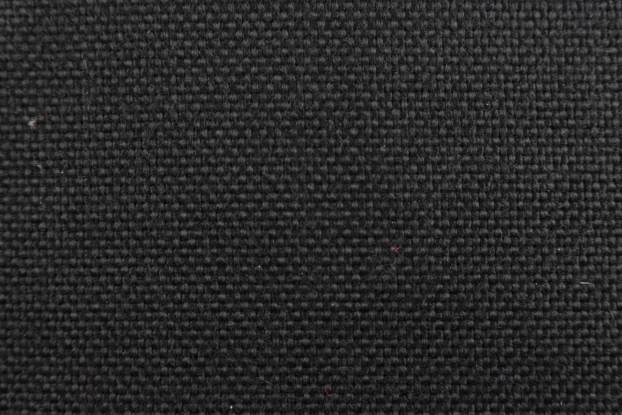 Foto macro tessuto nero