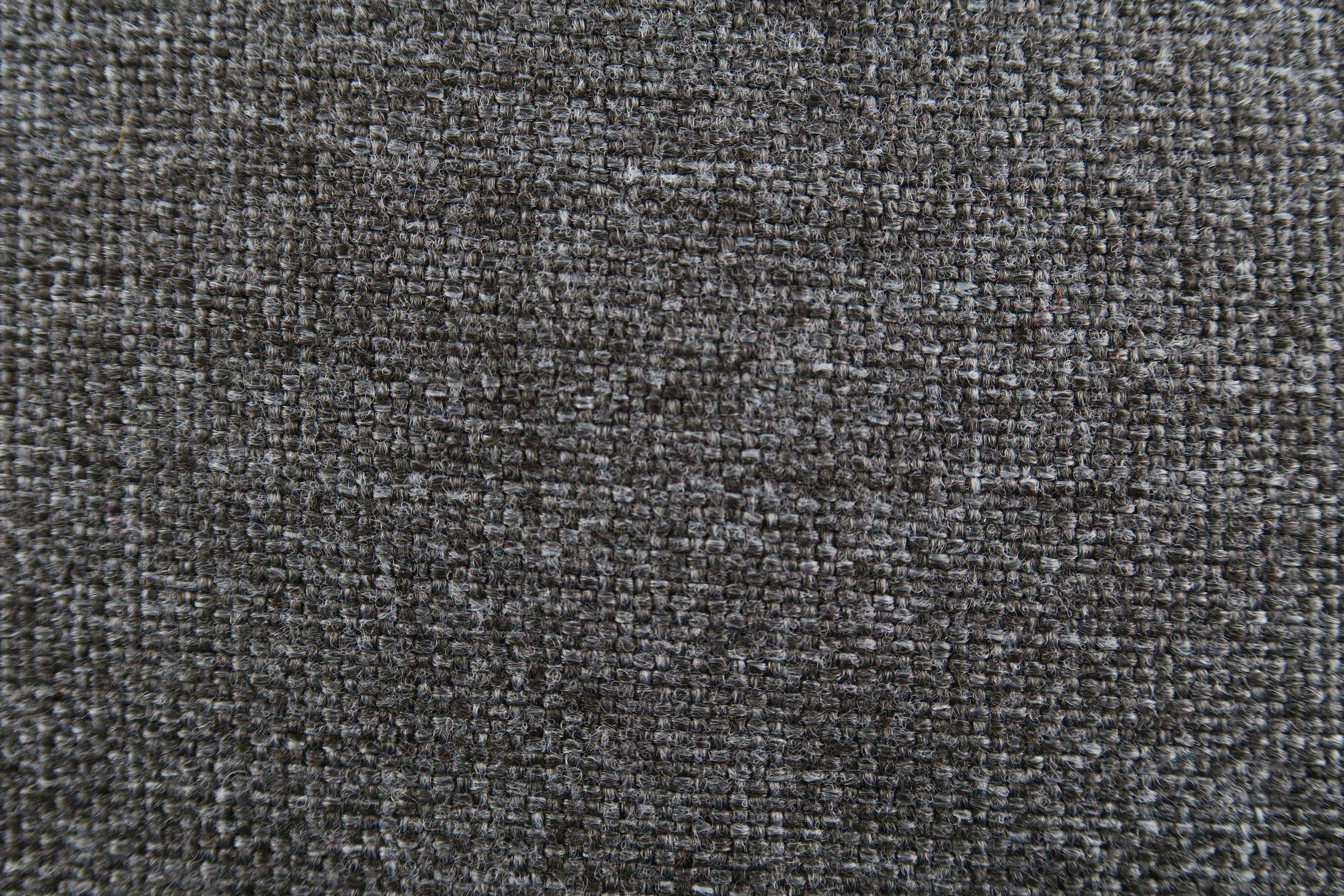 Foto macro tessuto grigio nero
