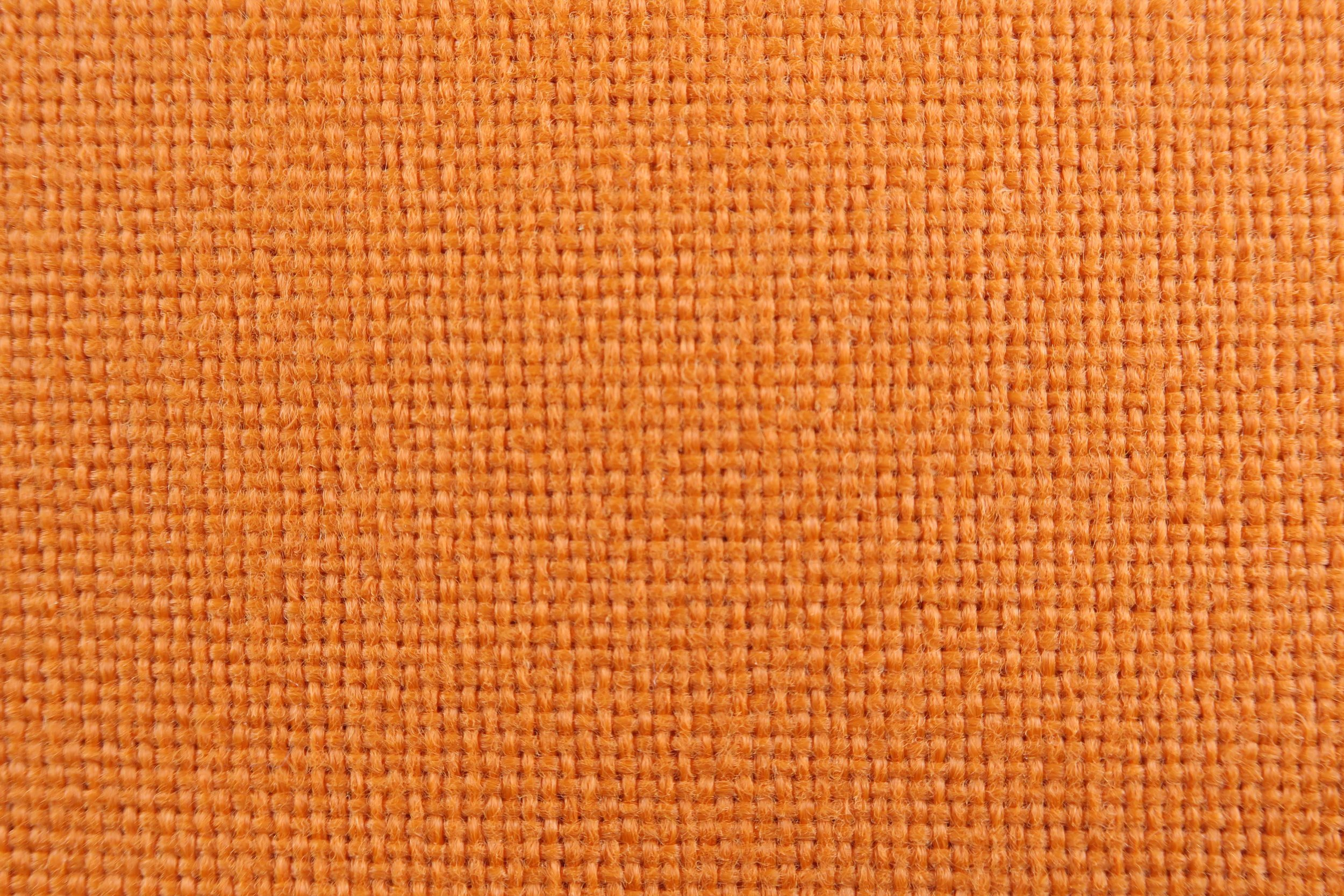 Foto macro tessuto arancio