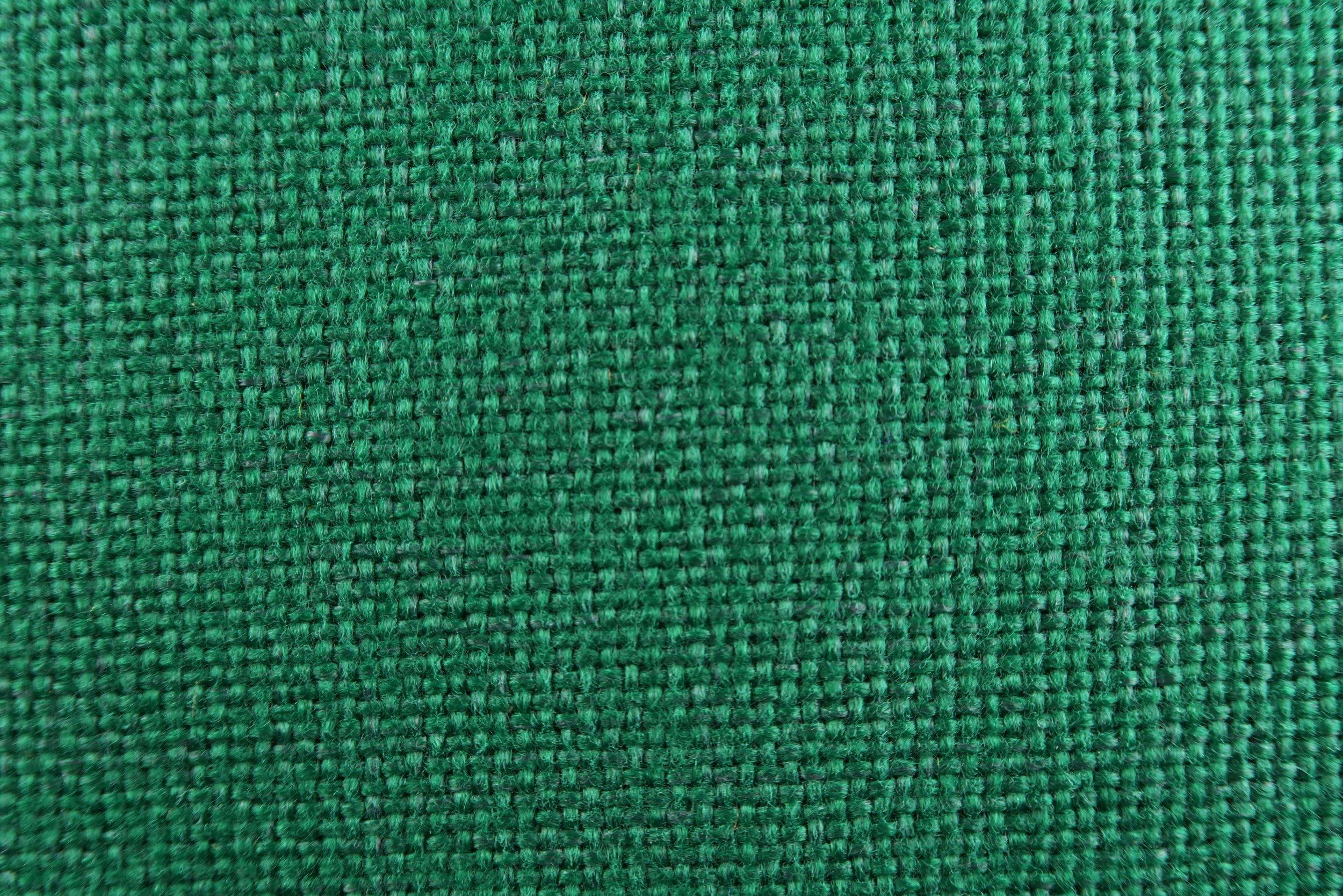 Foto macro tessuto verde