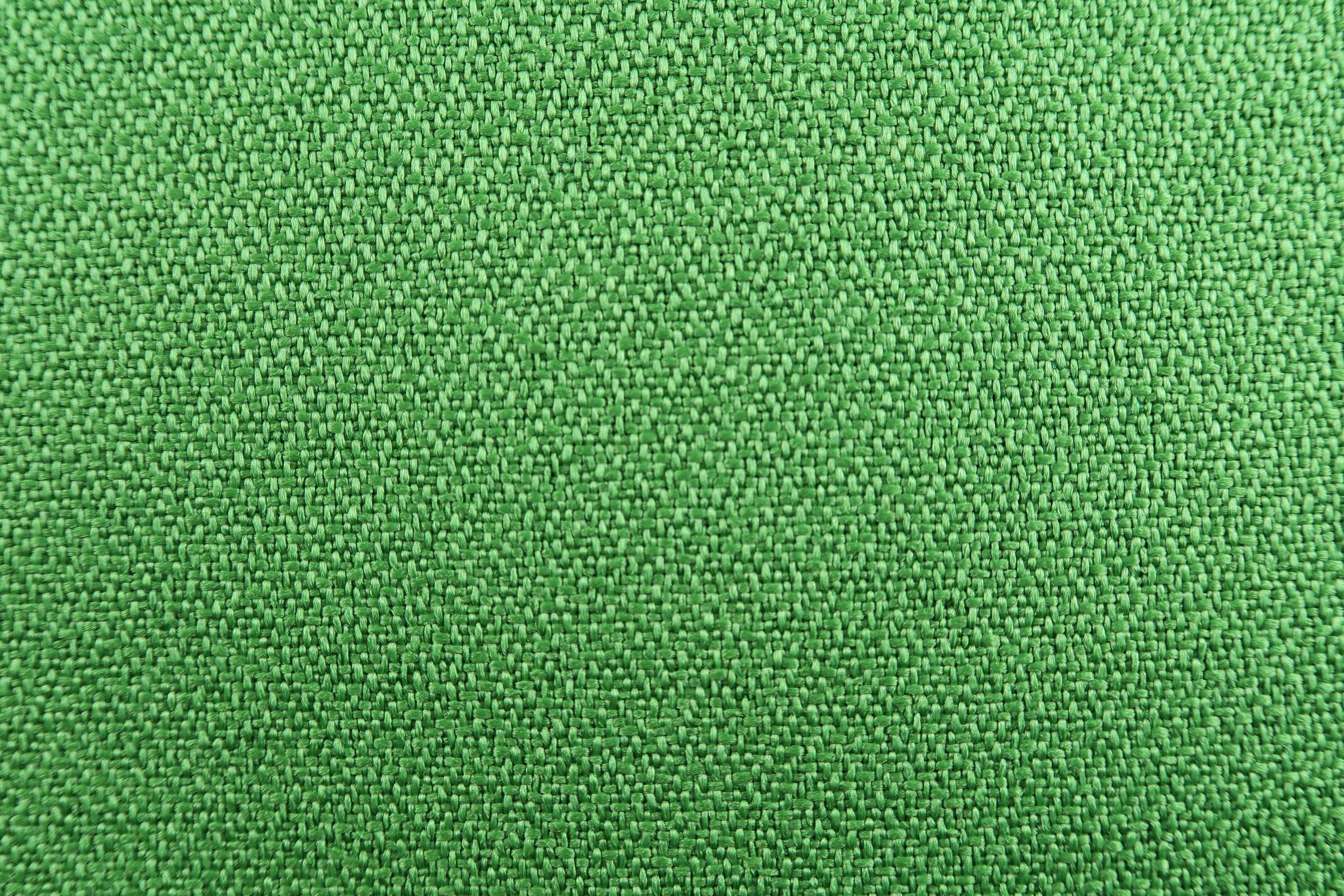 Foto macro tessuto verdino