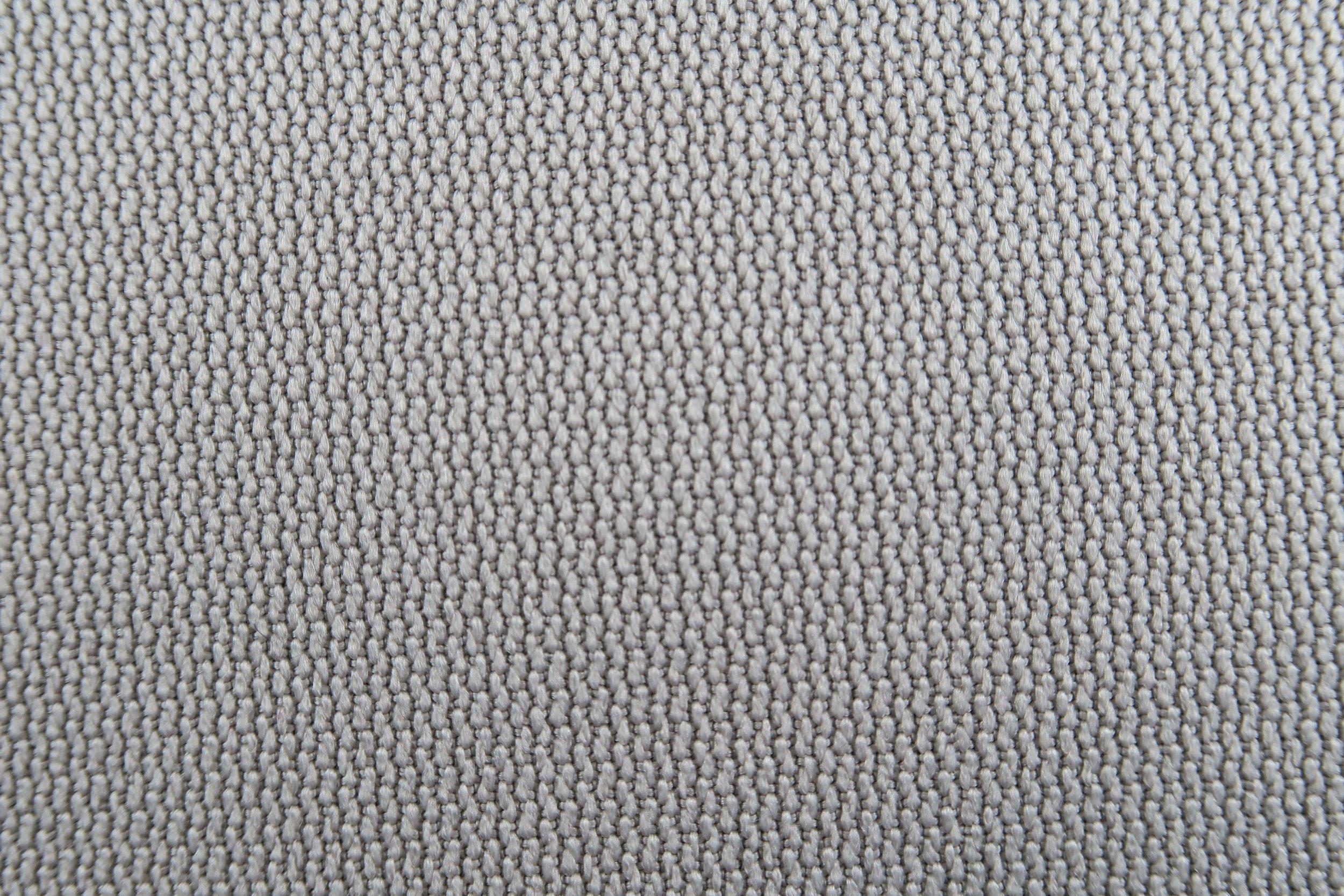 Foto macro tessuto grigio neutro