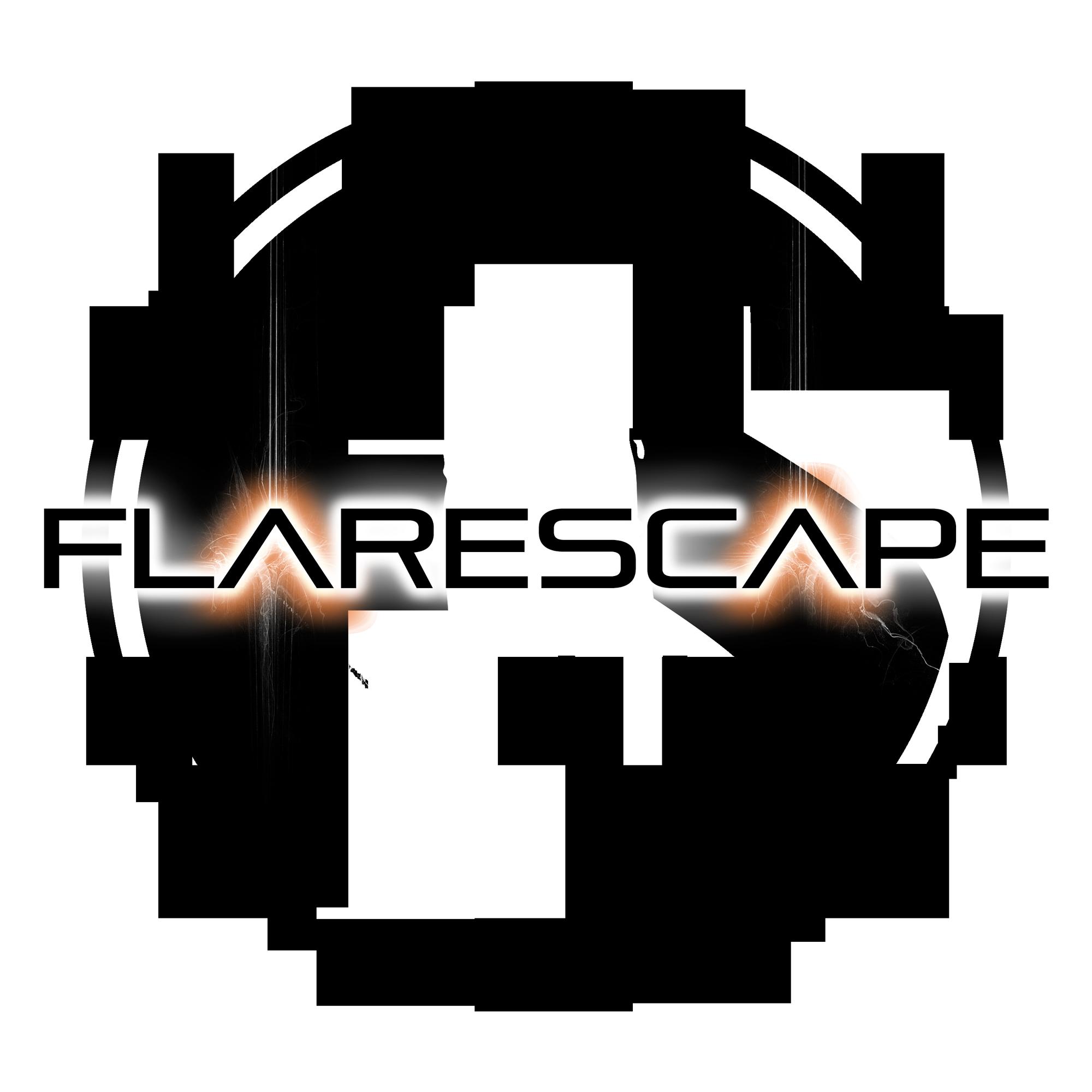 Flarescape logo design