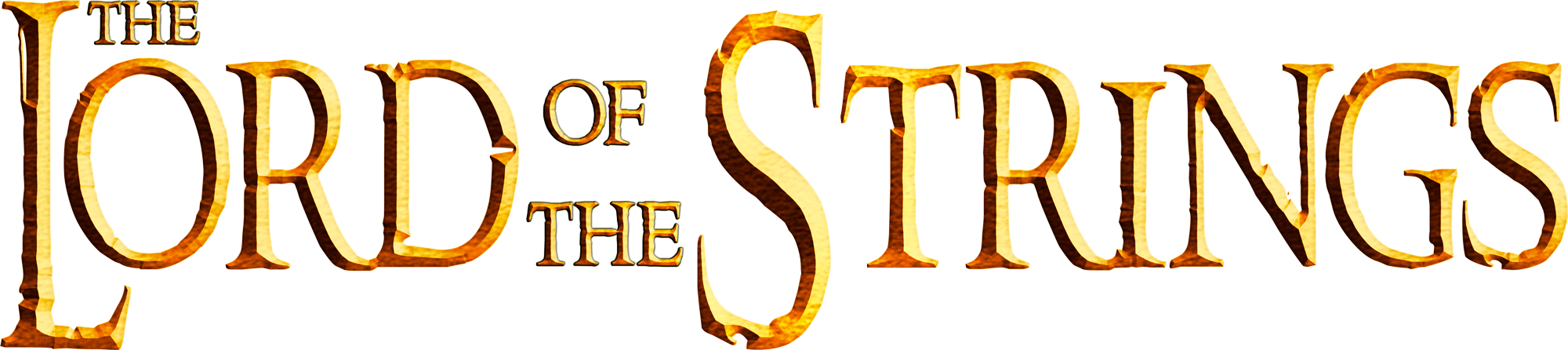 Grafica logo Lord of the Strings