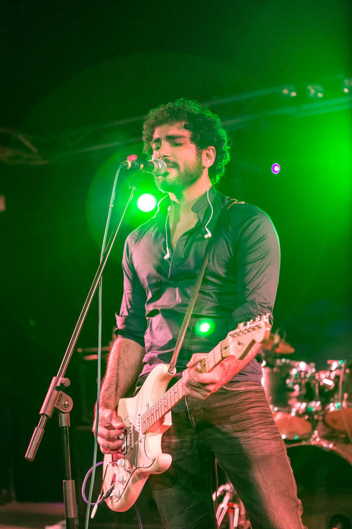 Foto live band report
