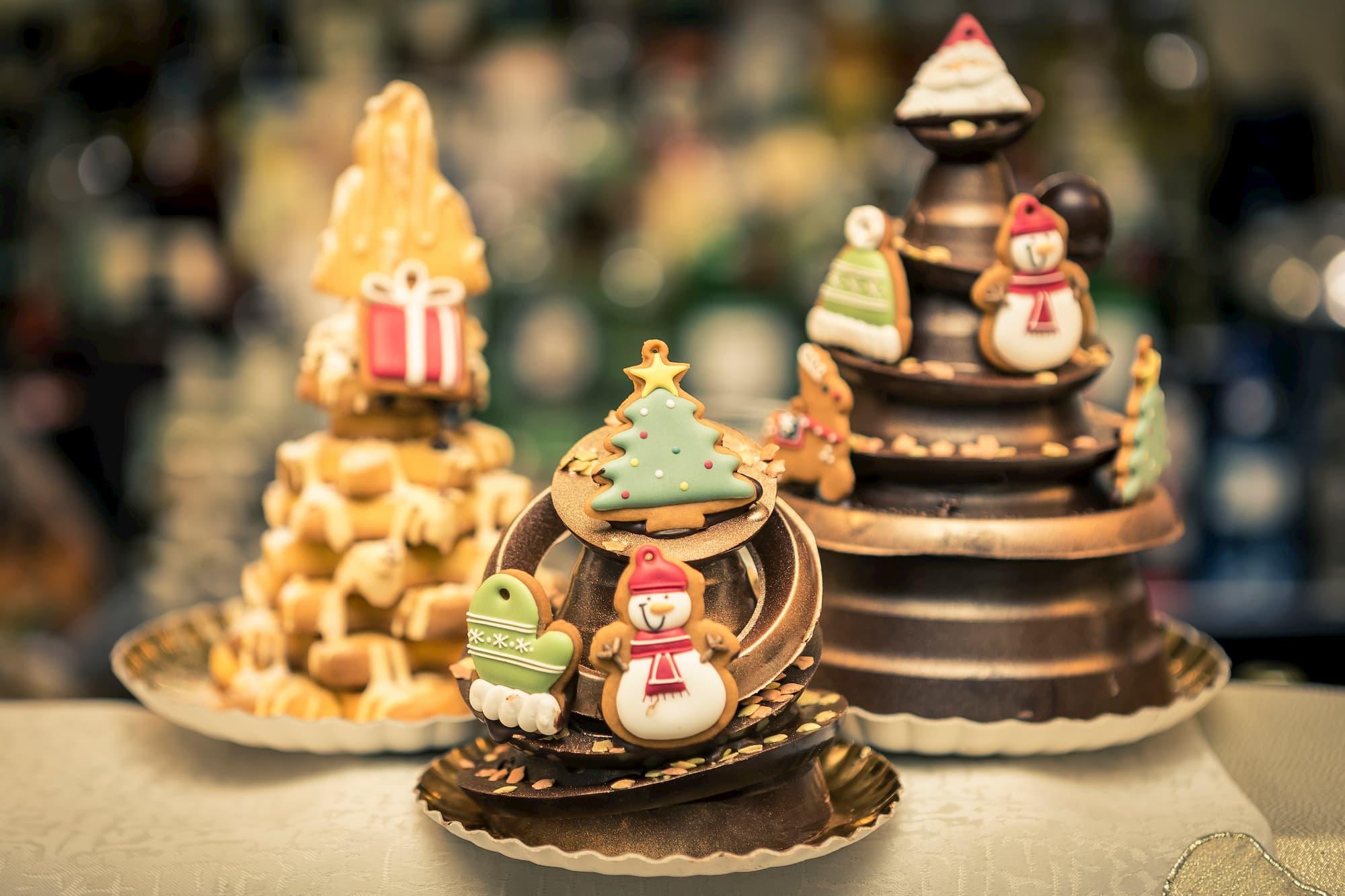 Foto food panettone cioccolato