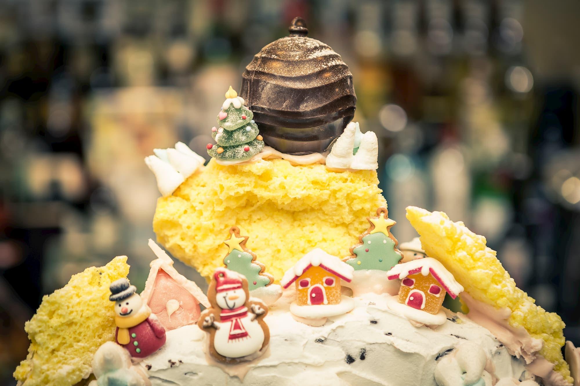 Foto food torta di natale