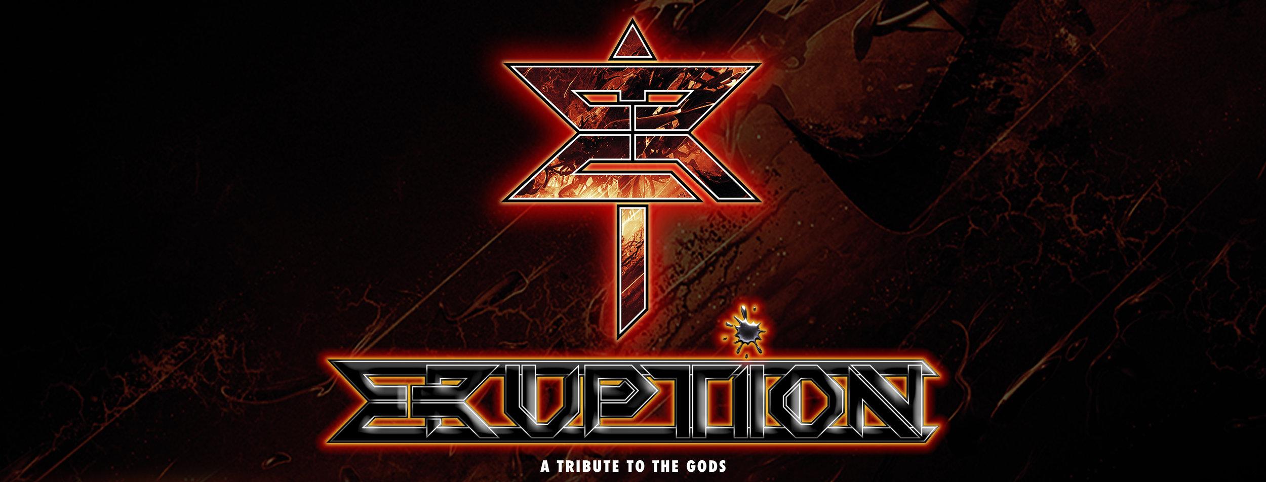 Logo e marchio eruption