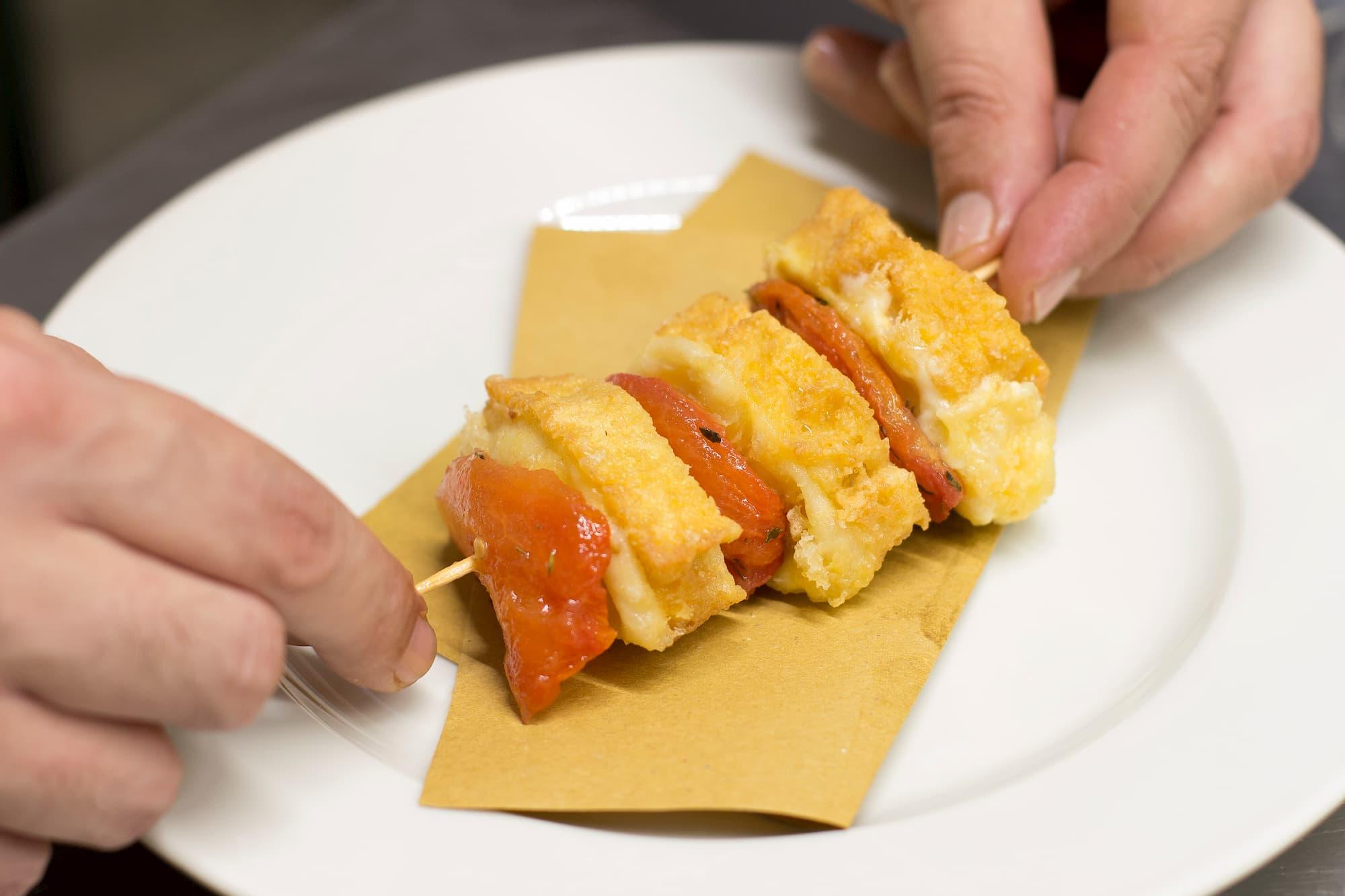 Foto food per ristorante Milano