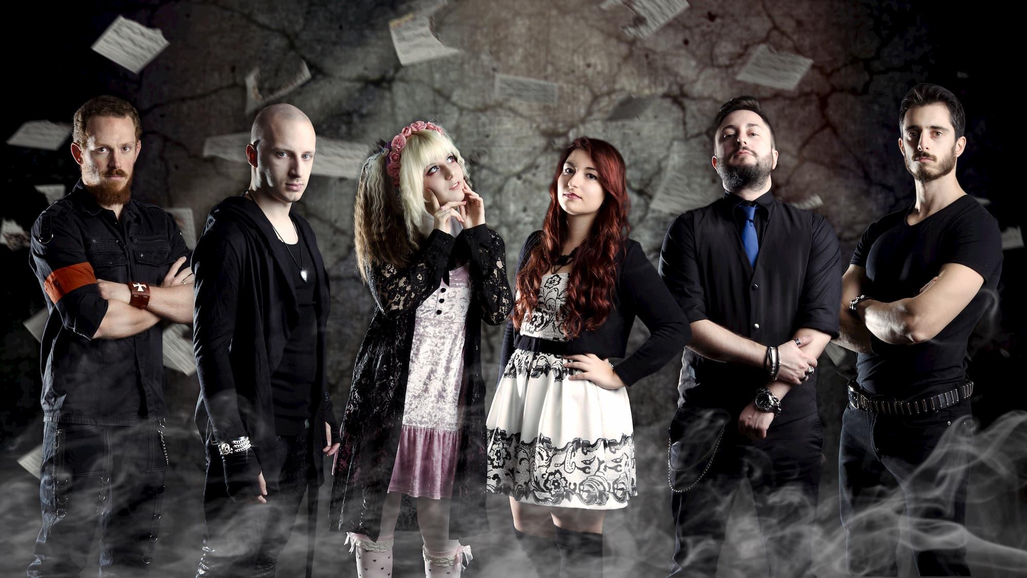 immagine coordinata cover di facebook band metal