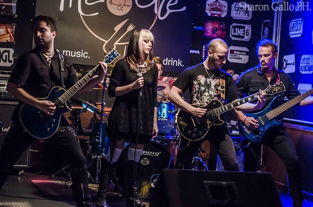 Foto di concerto metal