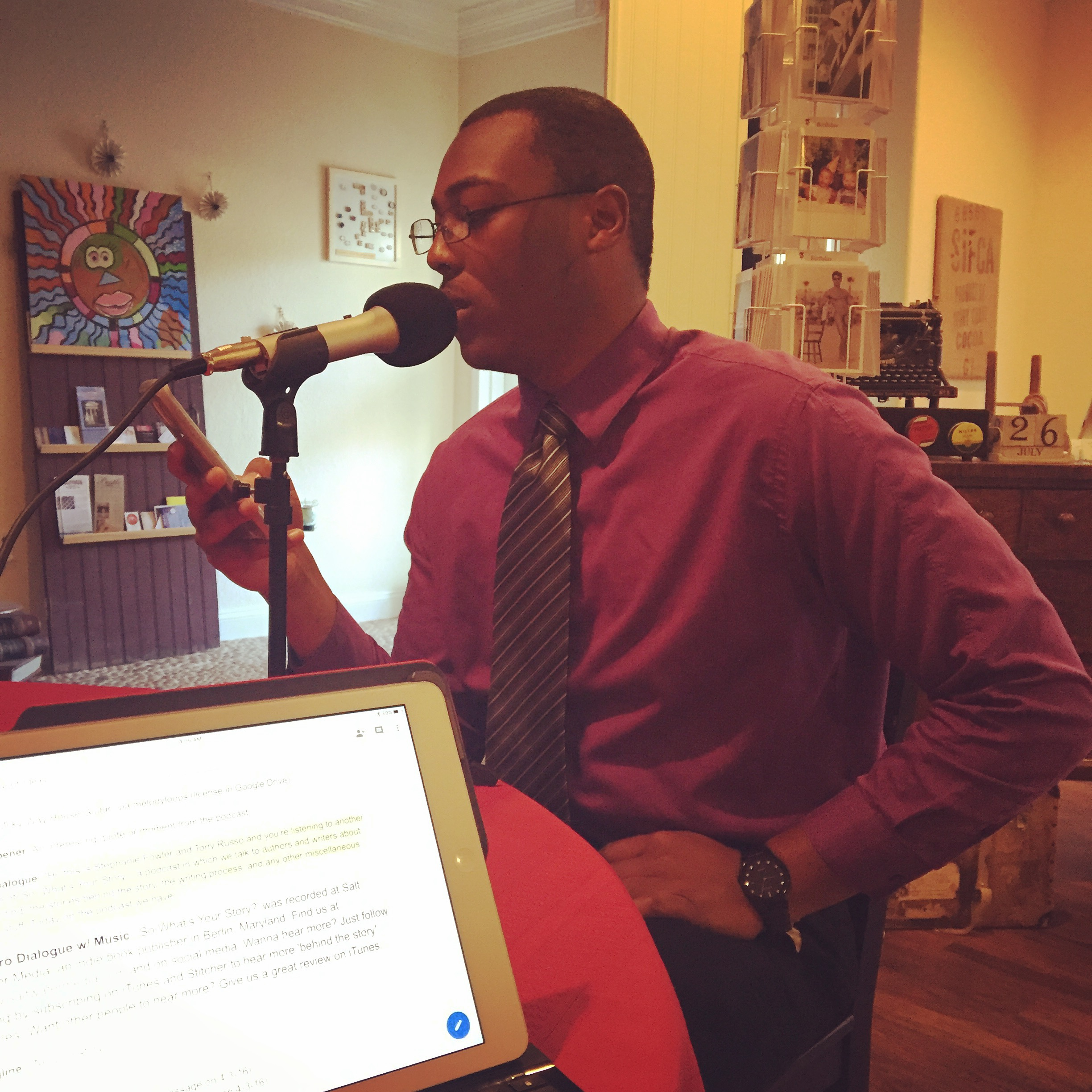 Jamaad reads from his new novel,  Uncivil Unity .