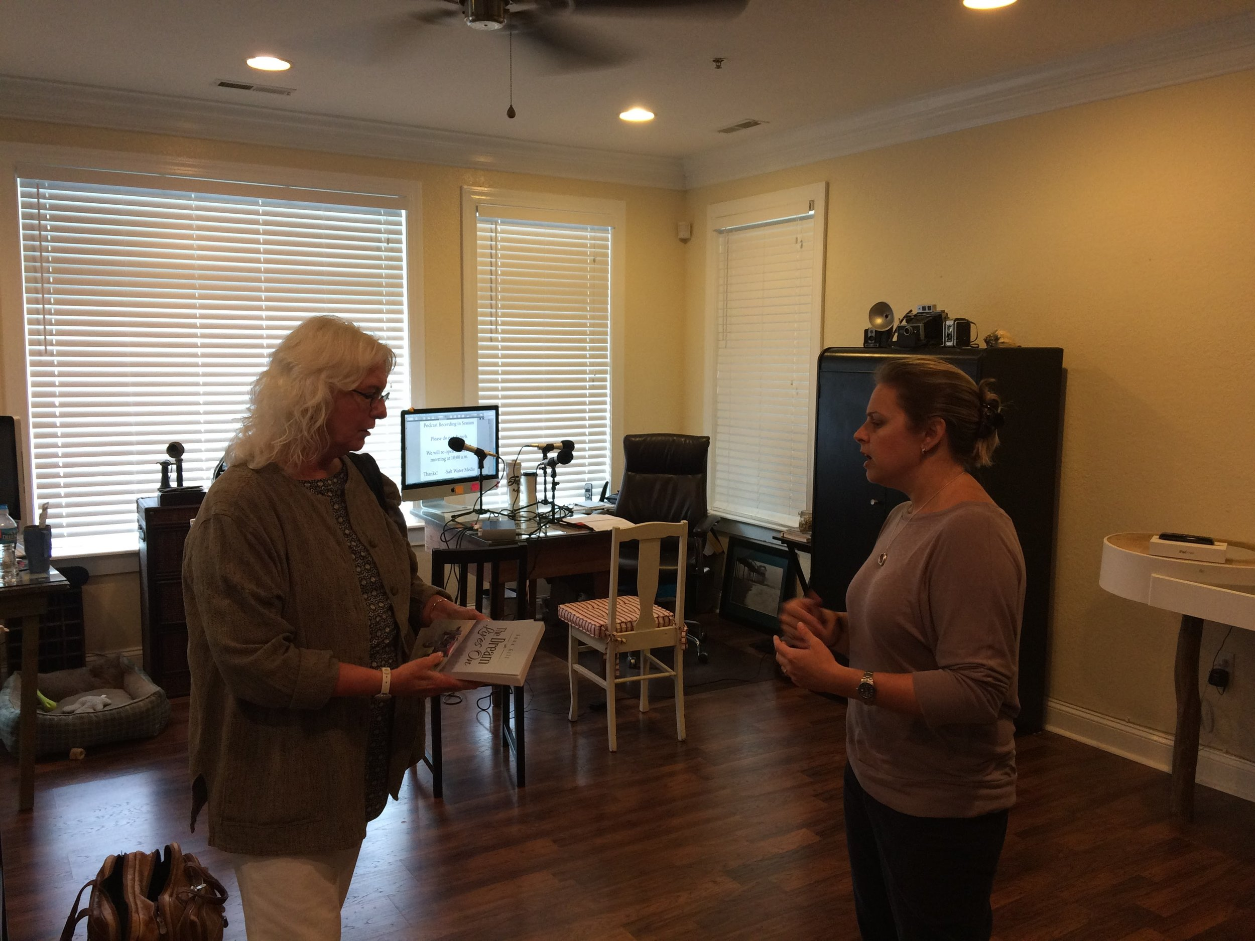 Bonnie and Stephanie talk about Bonnie's new novel,  The Dream Lives On .