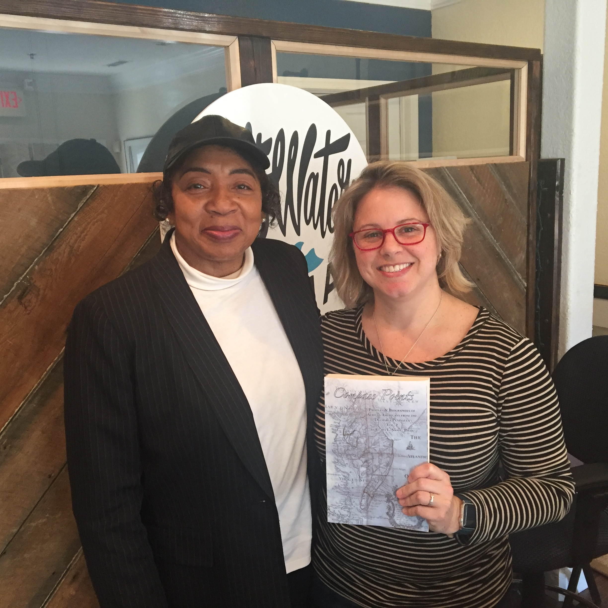 Dr. Clara Small and Stephanie - post podcast