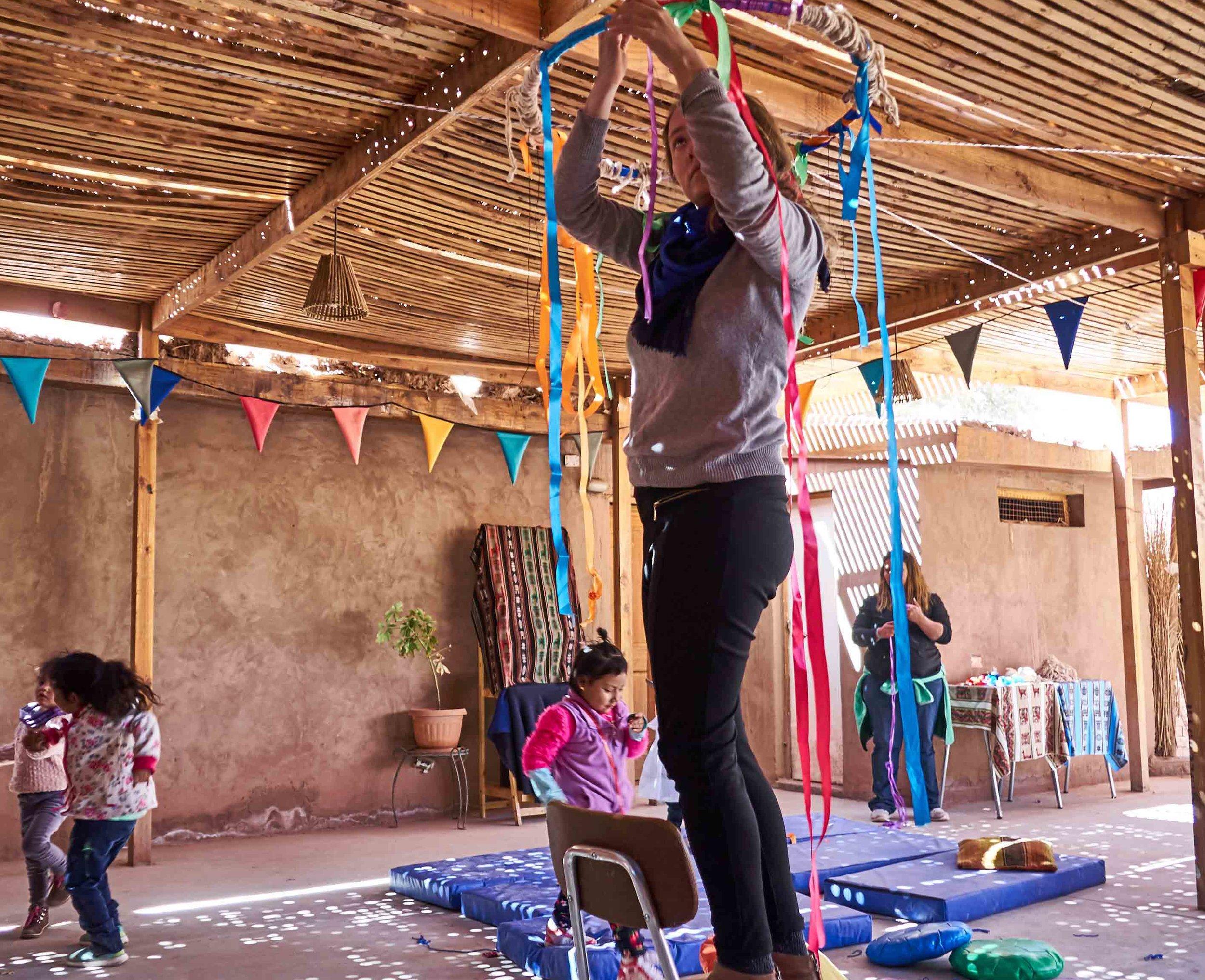 Instalación sonora y sensorial San Pedro de Atacama