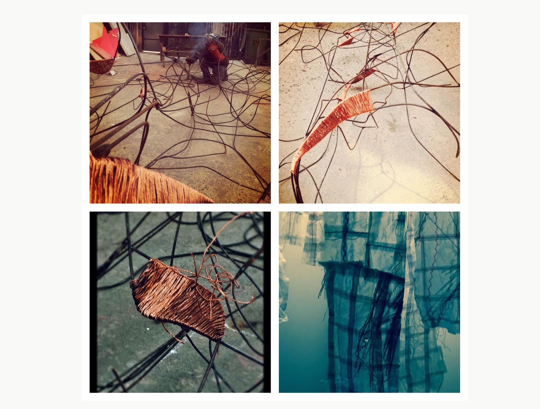 Escenografía de Valeria Burgoa, Artista Visual para Amnia Lab
