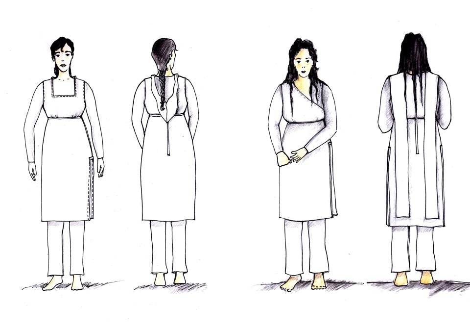 Diseño de vestuario de Víctor López para El Jardín del Origen